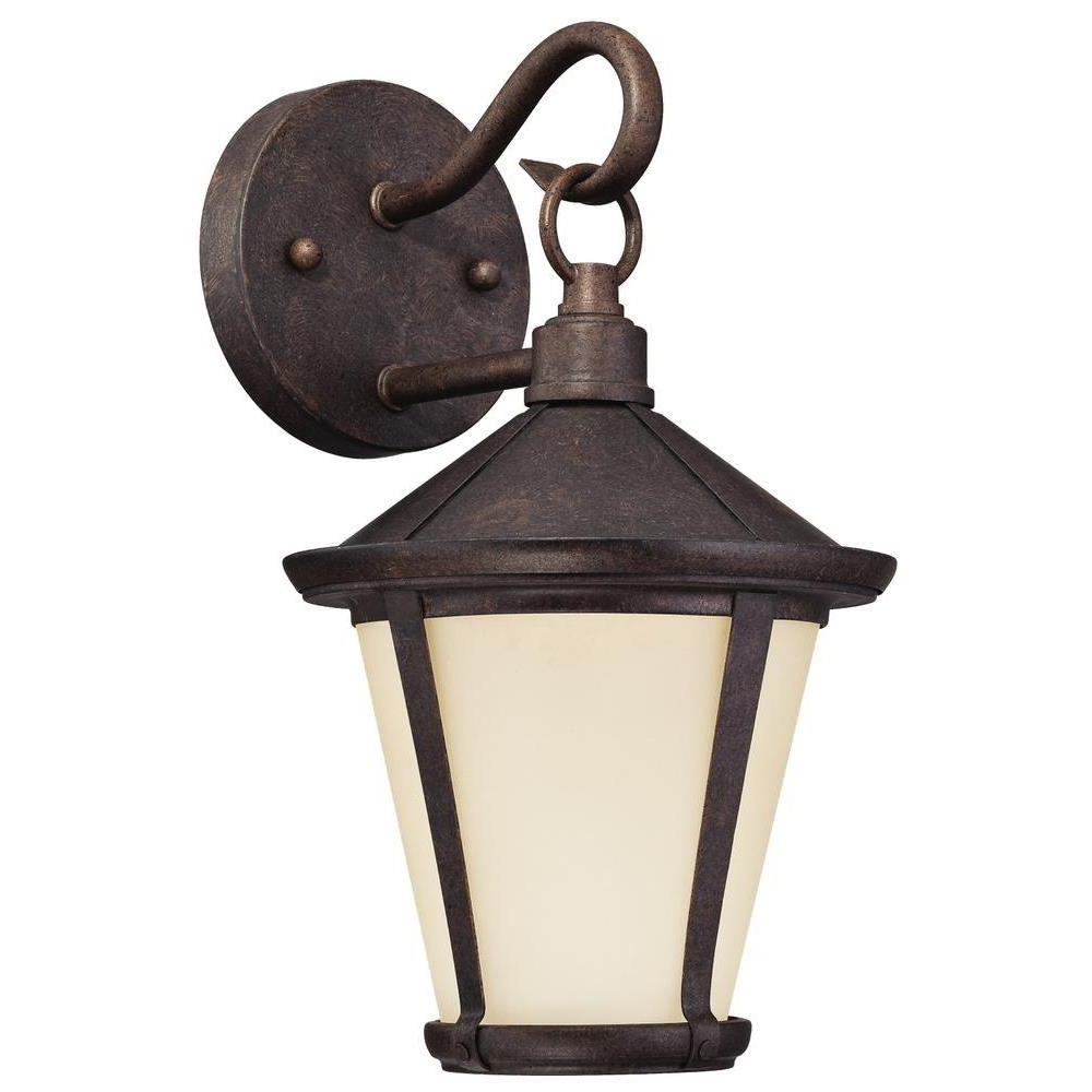 Westinghouse Darcy 1 Light Victorian Bronze Outdoor Led Wall Lantern With Best And Newest Victorian Outdoor Lanterns (View 20 of 20)
