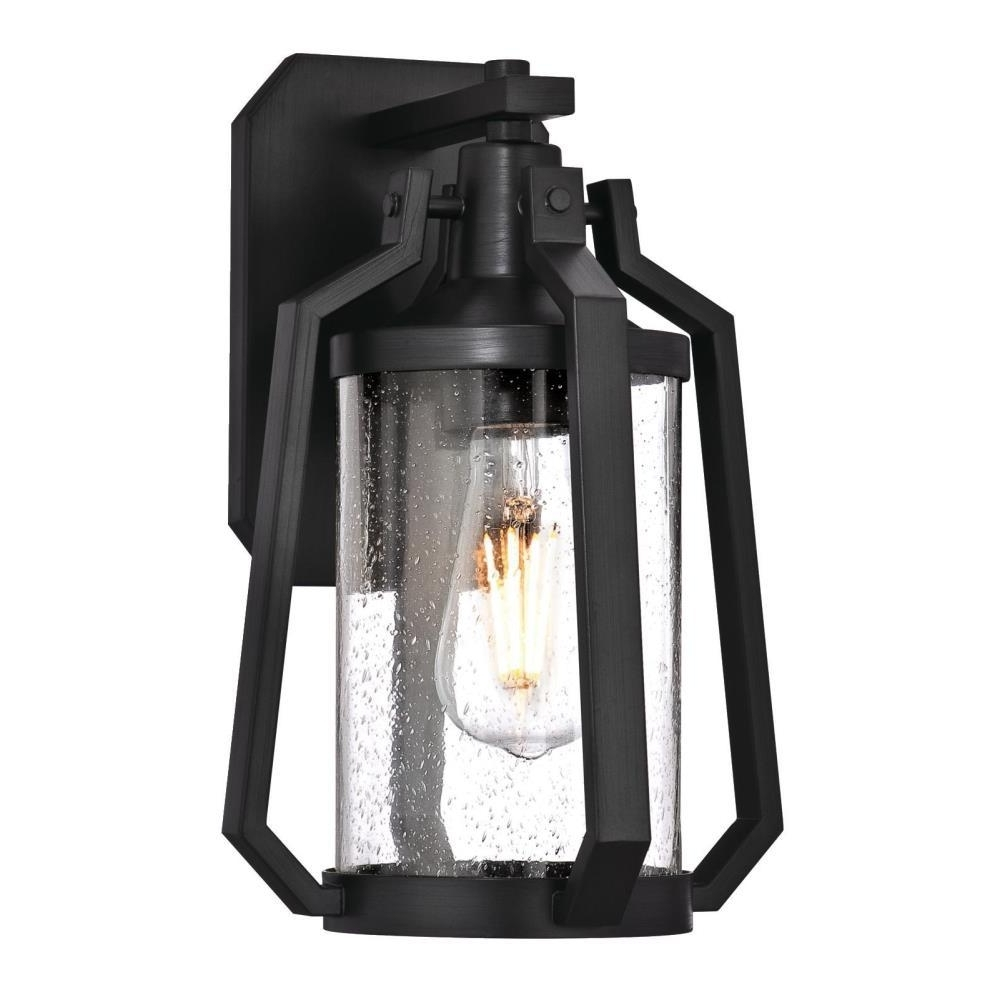 Westinghouse Ridley 1 Light Matte Brushed Gun Metal Outdoor Wall Intended For 2018 Metal Outdoor Lanterns (View 19 of 20)