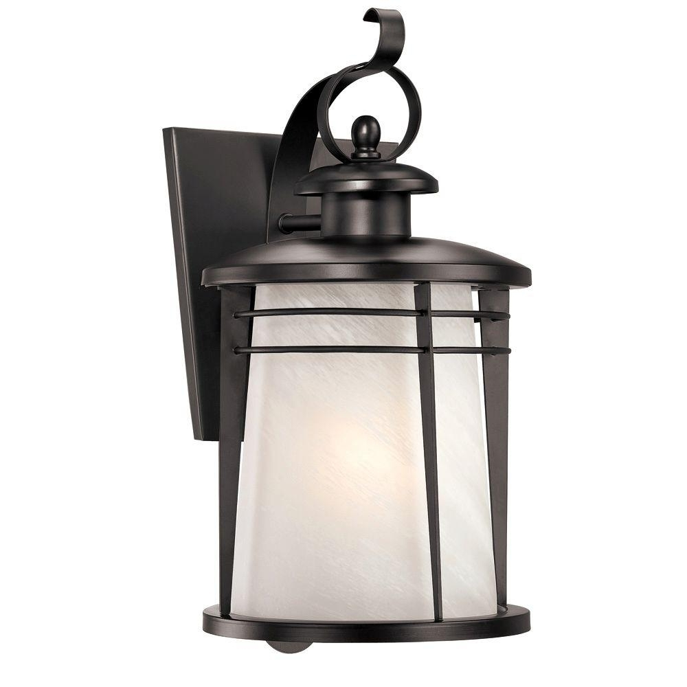 Westinghouse Senecaville Wall Mount 1 Light Outdoor Weathered Bronze Throughout Preferred Quality Outdoor Lanterns (View 16 of 20)