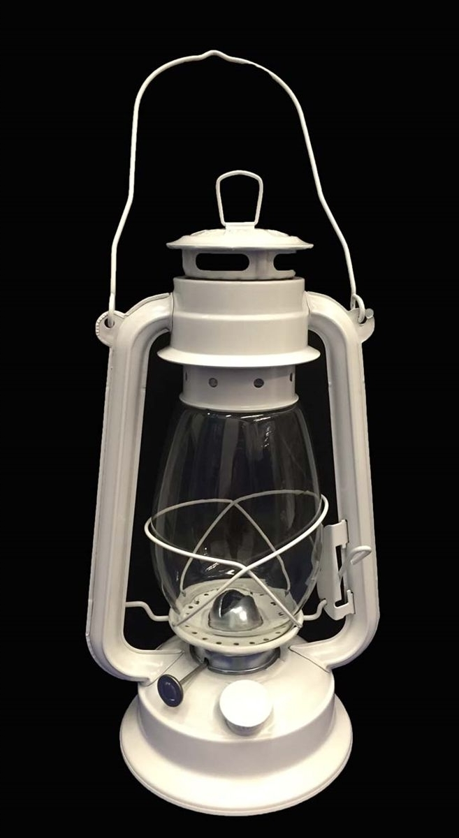 White Hurricane Kerosene Lantern Wedding Light Table Decorative Lamp Pertaining To Most Popular Decorative Outdoor Kerosene Lanterns (View 20 of 20)