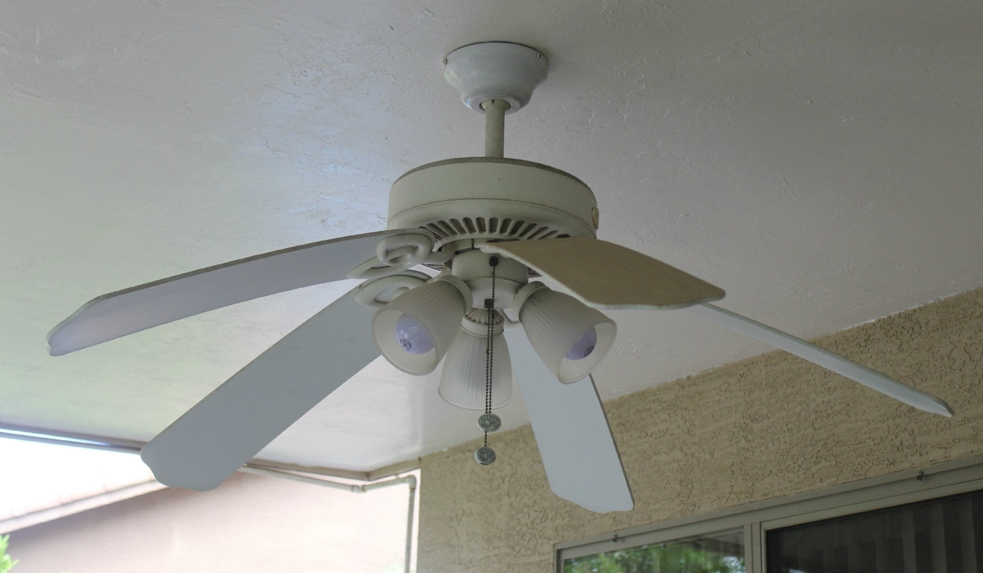 White Outdoor Ceiling Fans With Lights In Current Outdoor Ceiling Fan With Light White — Sherizampelli Landscape (View 19 of 20)