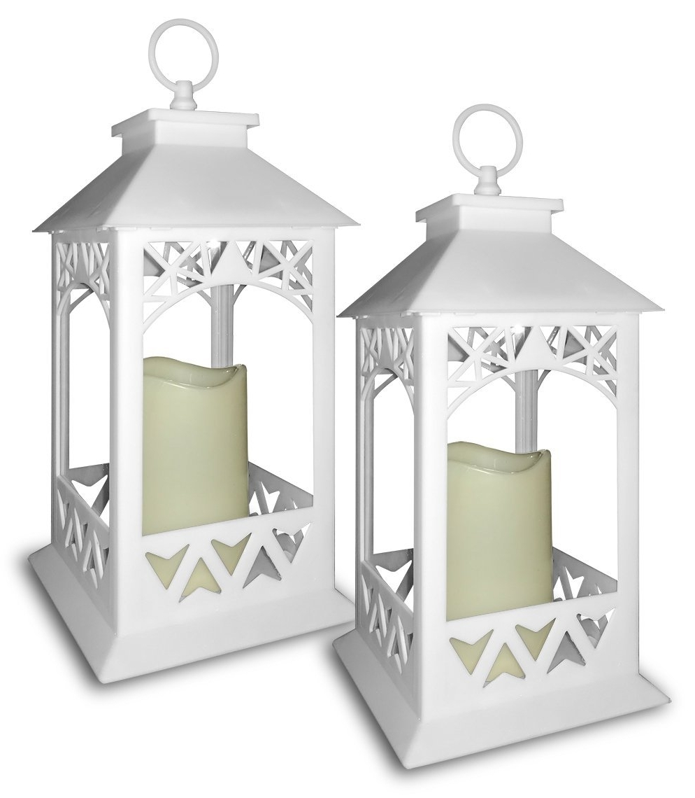 White Outdoor Lanterns Throughout 2018 Cheap Outdoor Lanterns Candle, Find Outdoor Lanterns Candle Deals On (View 20 of 20)