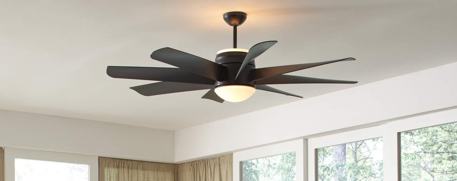 Widely Used Ceiling Fan With Uplight Within Outdoor Ceiling Fans With Uplights (View 20 of 20)