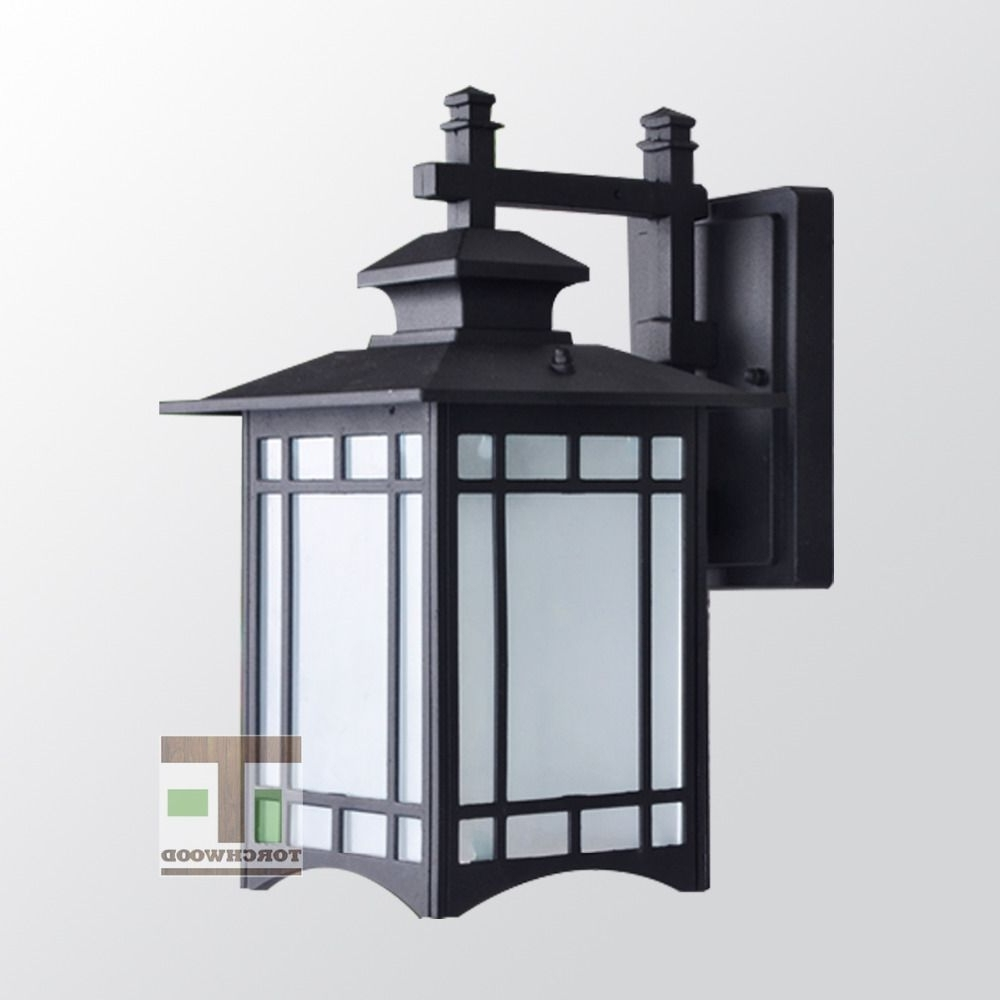 Widely Used Decorative Aluminium Black Wall Light Up And Down Vintage Outdoor Regarding Vintage Outdoor Lanterns (View 13 of 20)