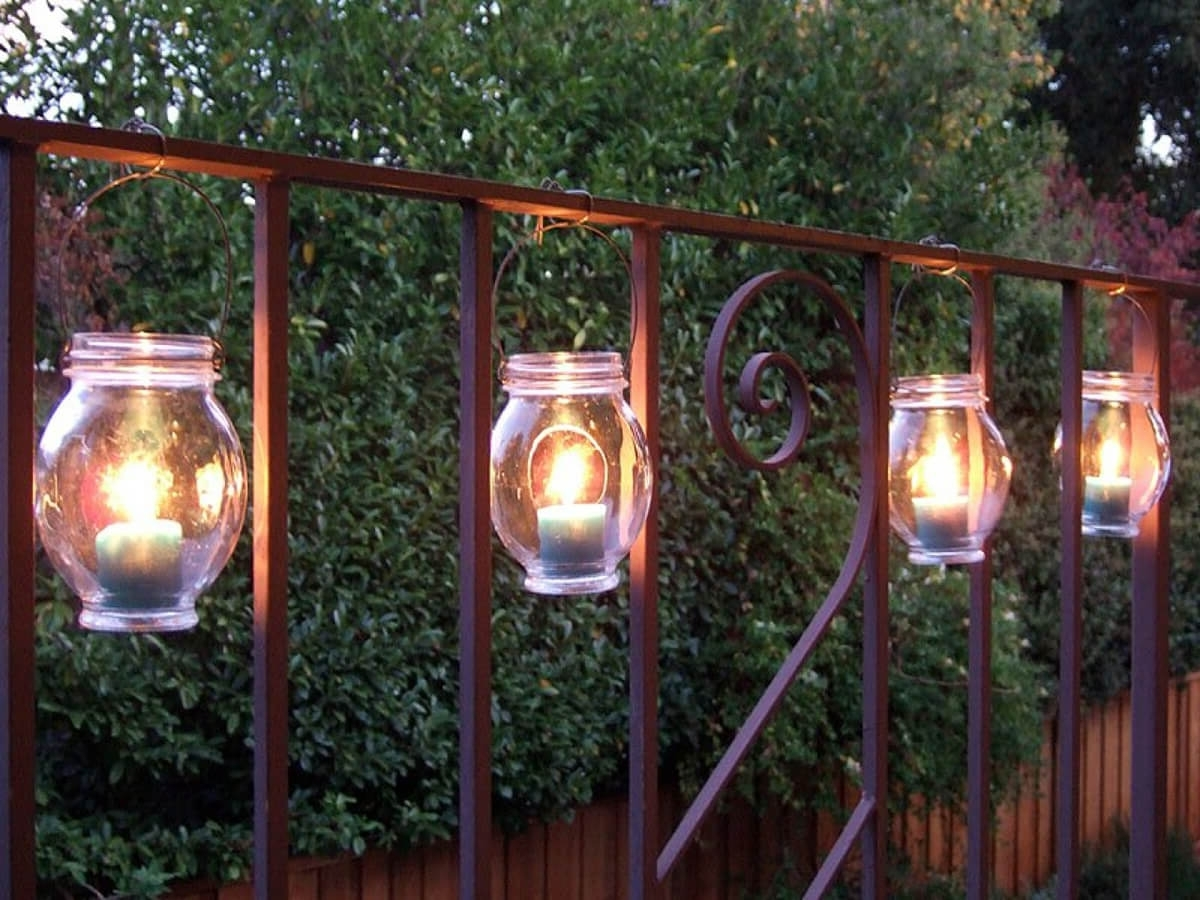 Widely Used Diy Outdoor Lanterns In 25 Best Diy Outdoor Lighting Ideas And Designs For  (View 7 of 20)