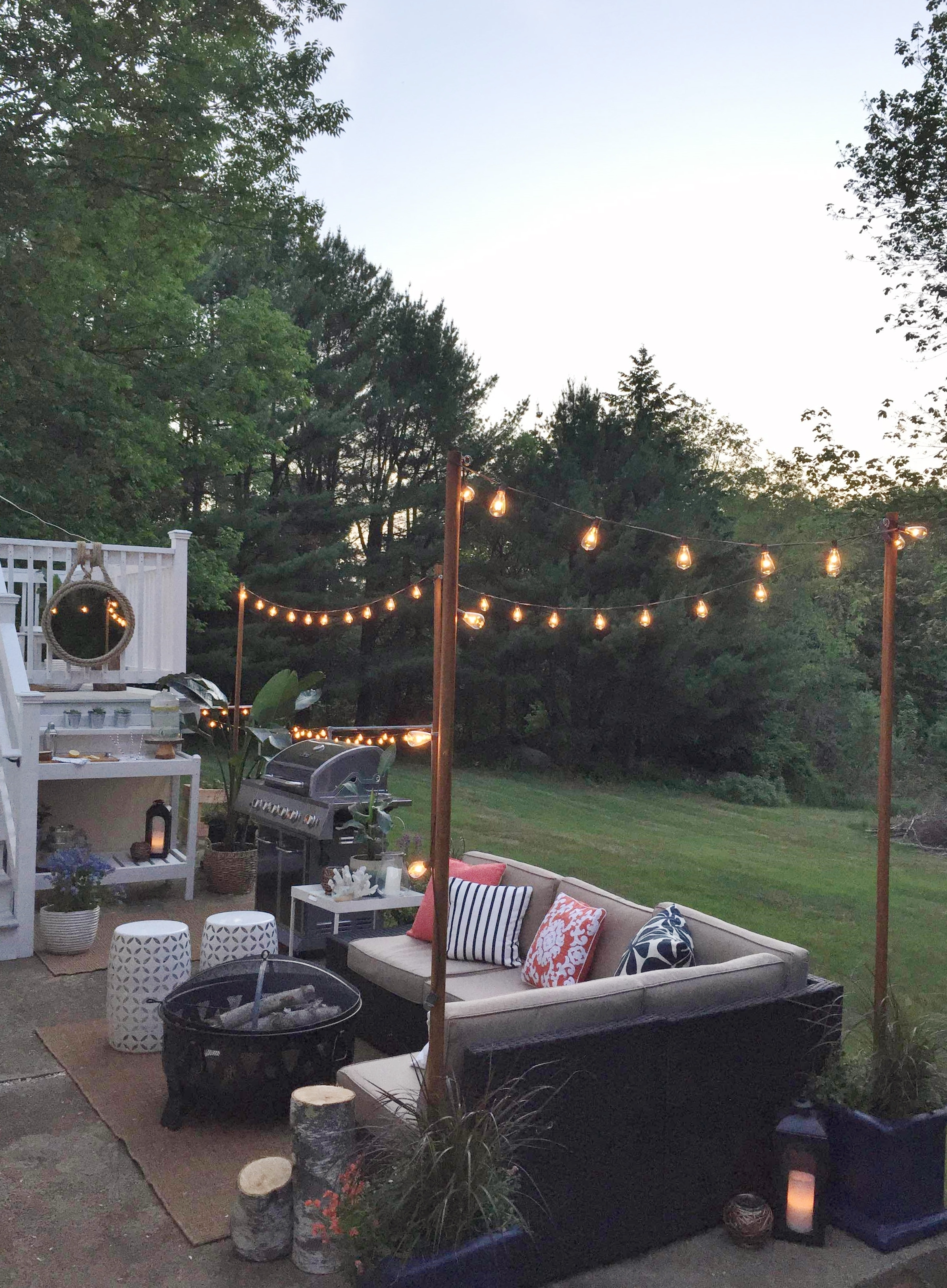 Widely Used Diy Outdoor Lanterns Intended For Diy Outdoor Light Poles – City Farmhouse (Gallery 15 of 20)
