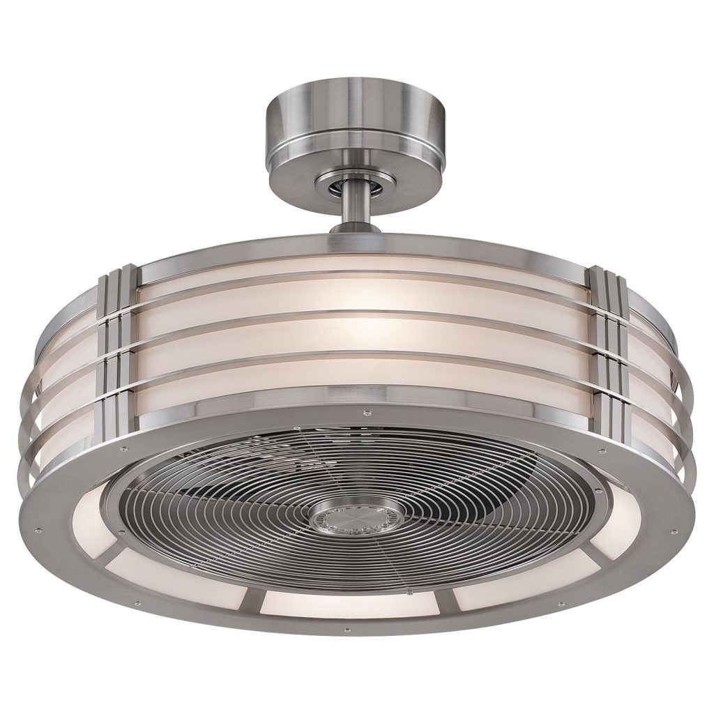 Featured Photo of Enclosed Outdoor Ceiling Fans