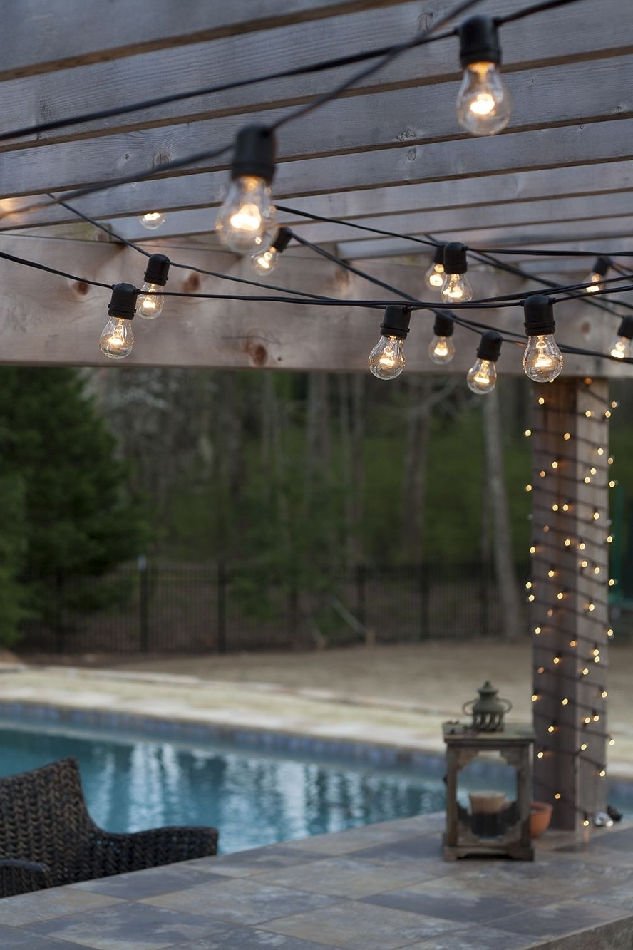 Widely Used Get Your String Lights In Shape With Popular Patio Light Hanging Within Outdoor Lawn Lanterns (View 19 of 20)