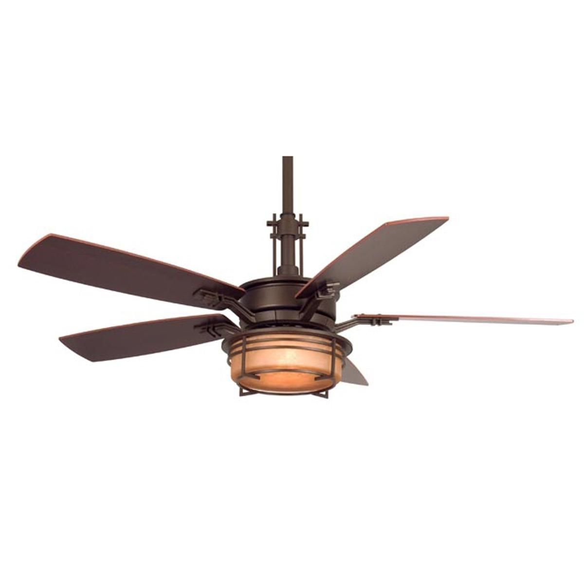 "Widely Used Gold Coast Outdoor Ceiling Fans Pertaining To 54"" Craftsman Style Ceiling Fan The Craftsman Ceiling Fan Features (View 13 of 20)"