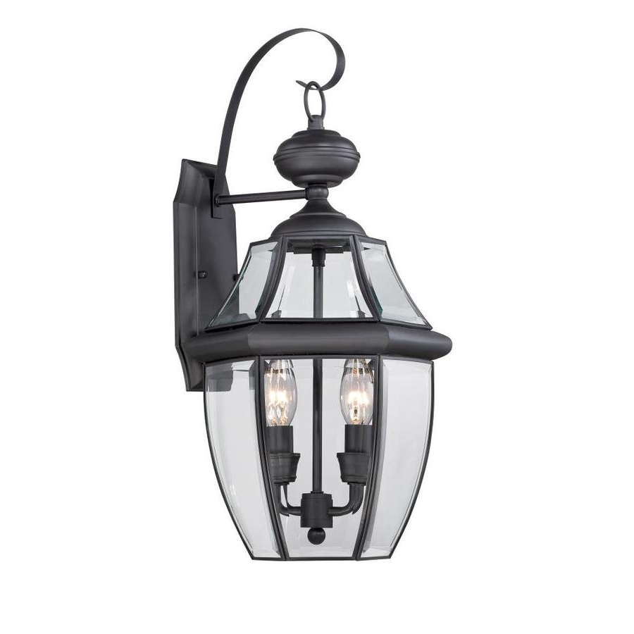 Widely Used Large Outdoor Electric Lanterns With Shop Outdoor Wall Lights At Lowes (Gallery 20 of 20)