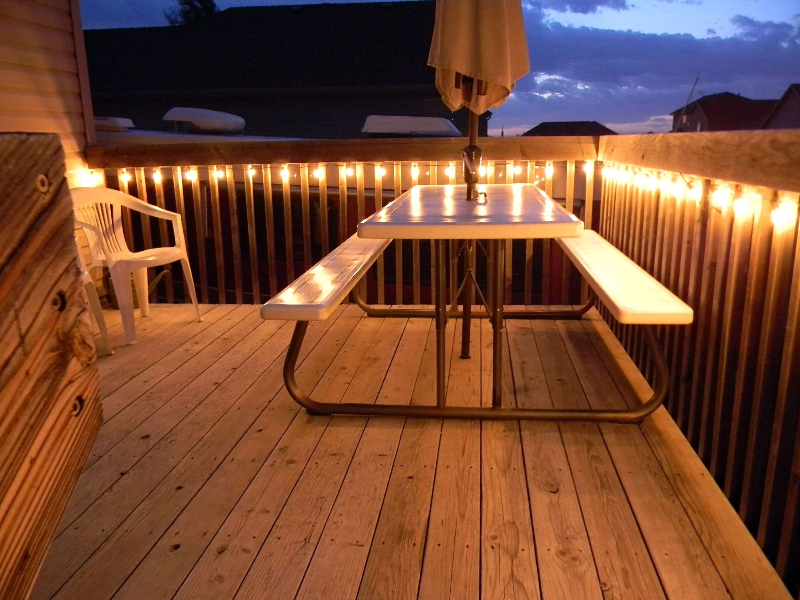 Widely Used Outdoor Deck Lanterns Intended For Solar Post Lights For Decks Unique 39 Best Outdoor Deck Lighting (View 20 of 20)