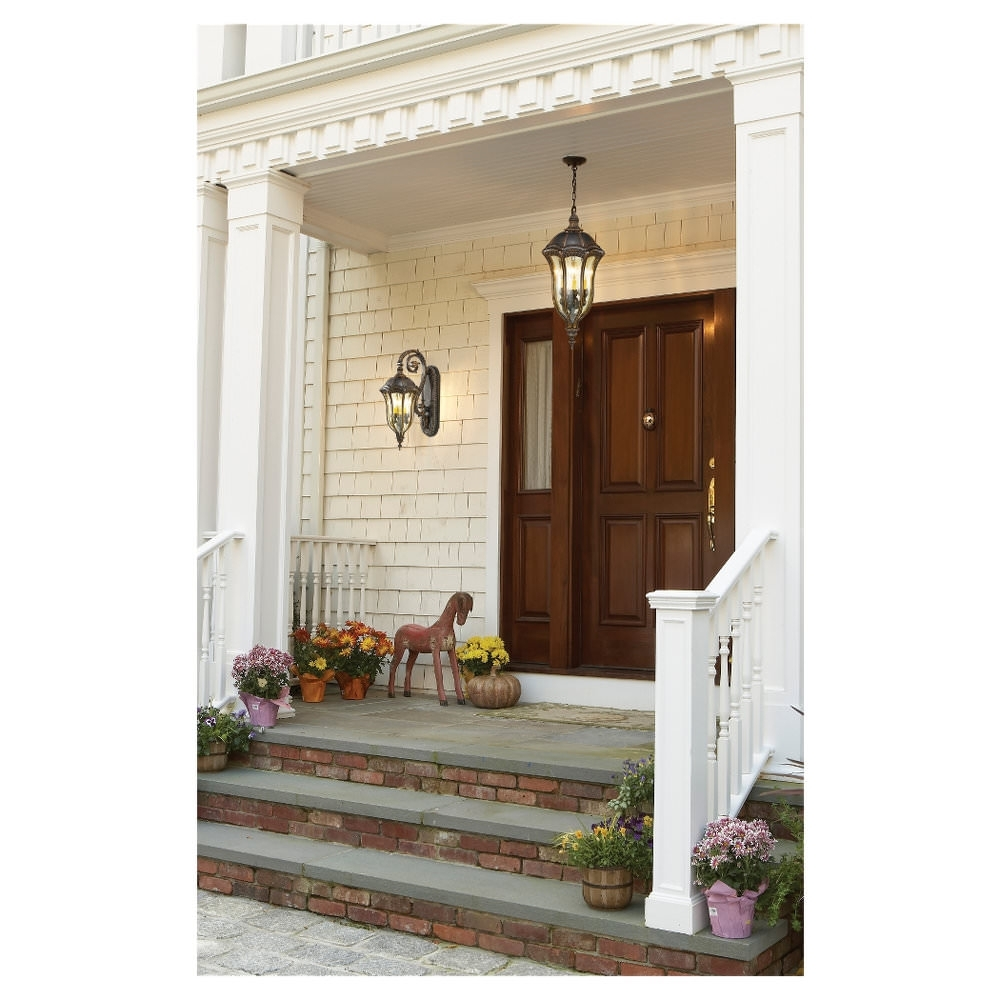 Widely Used Outdoor Lanterns For Front Door With Regard To 15 Different Outdoor Lighting Ideas For Your Home (All Types) (View 20 of 20)