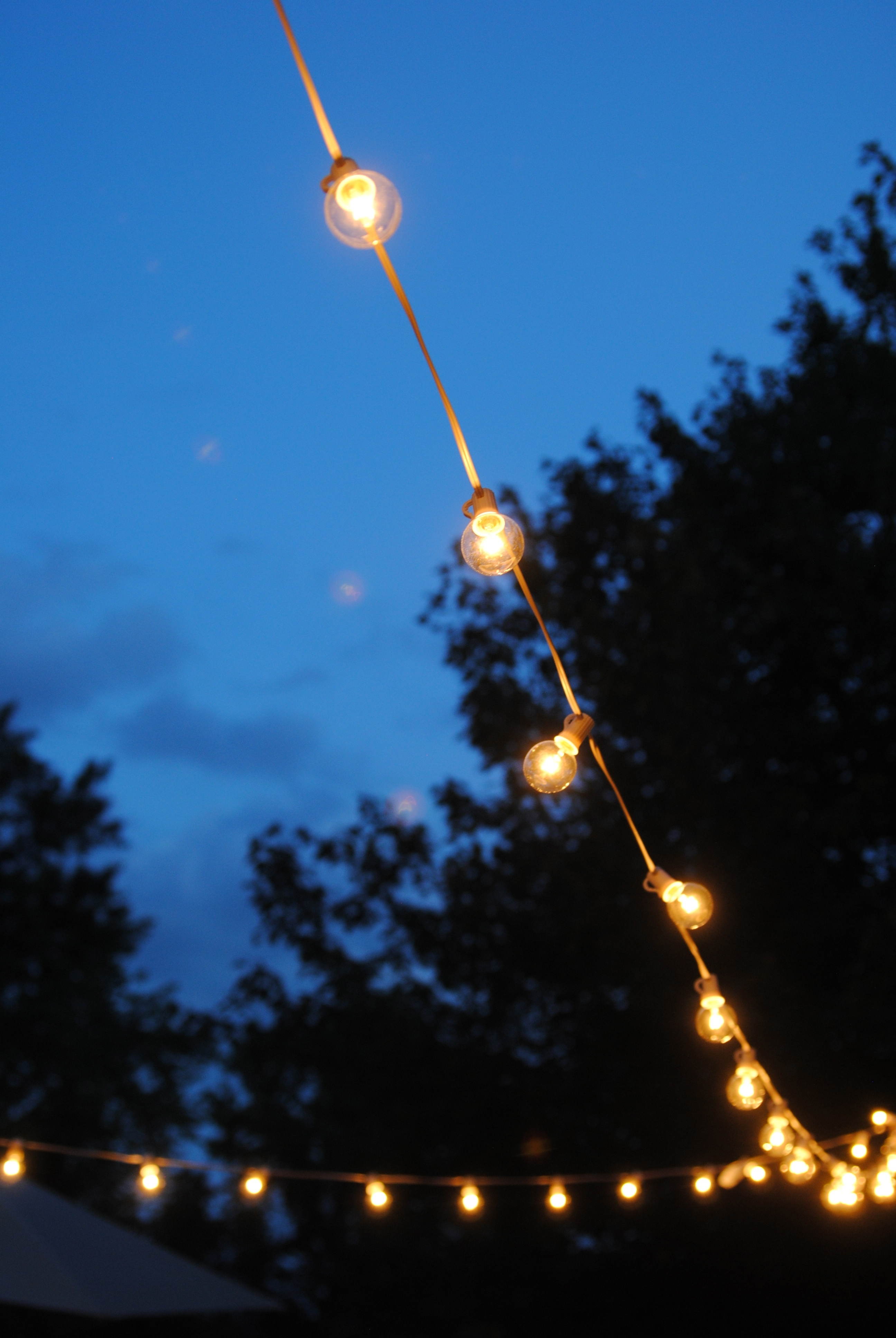 Widely Used Outdoor Lanterns On String For How To Hang Outdoor String Lights (The Deck Diaries, Part  (View 20 of 20)