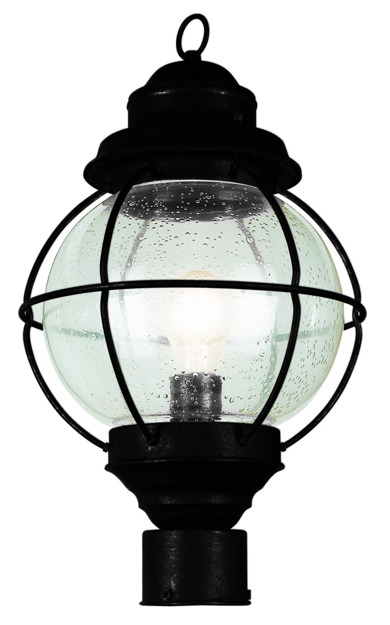"Widely Used Trans Globe Lighting 69902 Bk Onion Lantern Post Top 15"" Black Regarding Outdoor Lighting Onion Lanterns (View 20 of 20)"