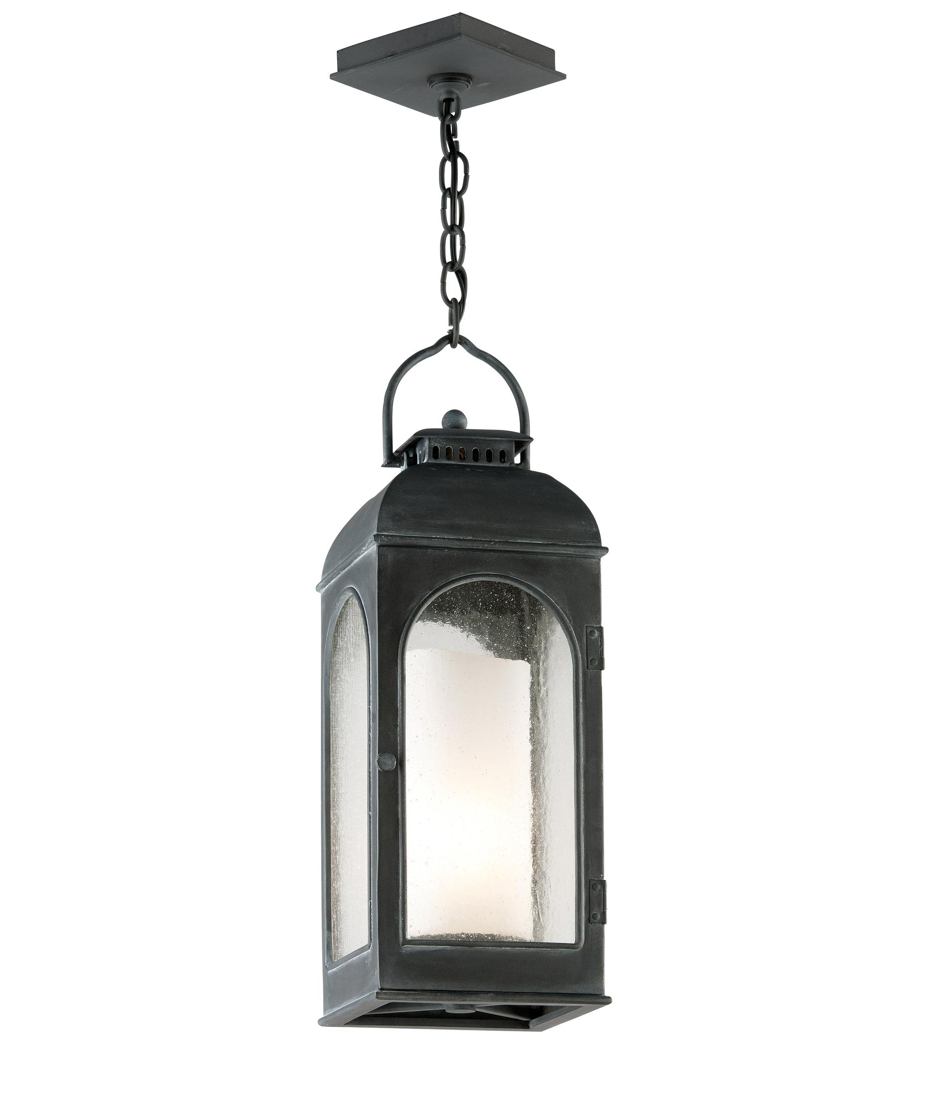 Widely Used Troy Lighting F3287 Derby 8 Inch Wide 1 Light Outdoor Hanging Pertaining To Outdoor Hanging Lanterns For Candles (View 4 of 20)