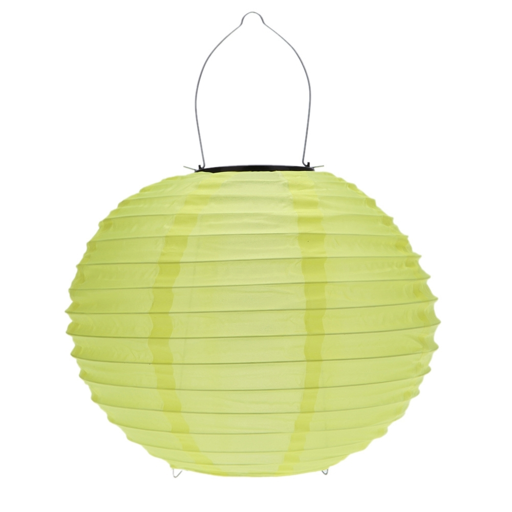 Widely Used Yellow Outdoor Lanterns In 10 Inch Yellow Waterproof Solar Lantern Outdoor Garden Led Chinese (View 15 of 20)