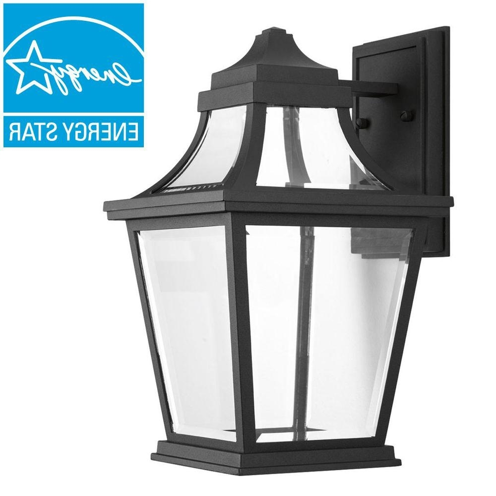 Xl Outdoor Lanterns Intended For Best And Newest Progress Lighting Wish Collection 1 Light Outdoor 7 Inch Textured (View 18 of 20)