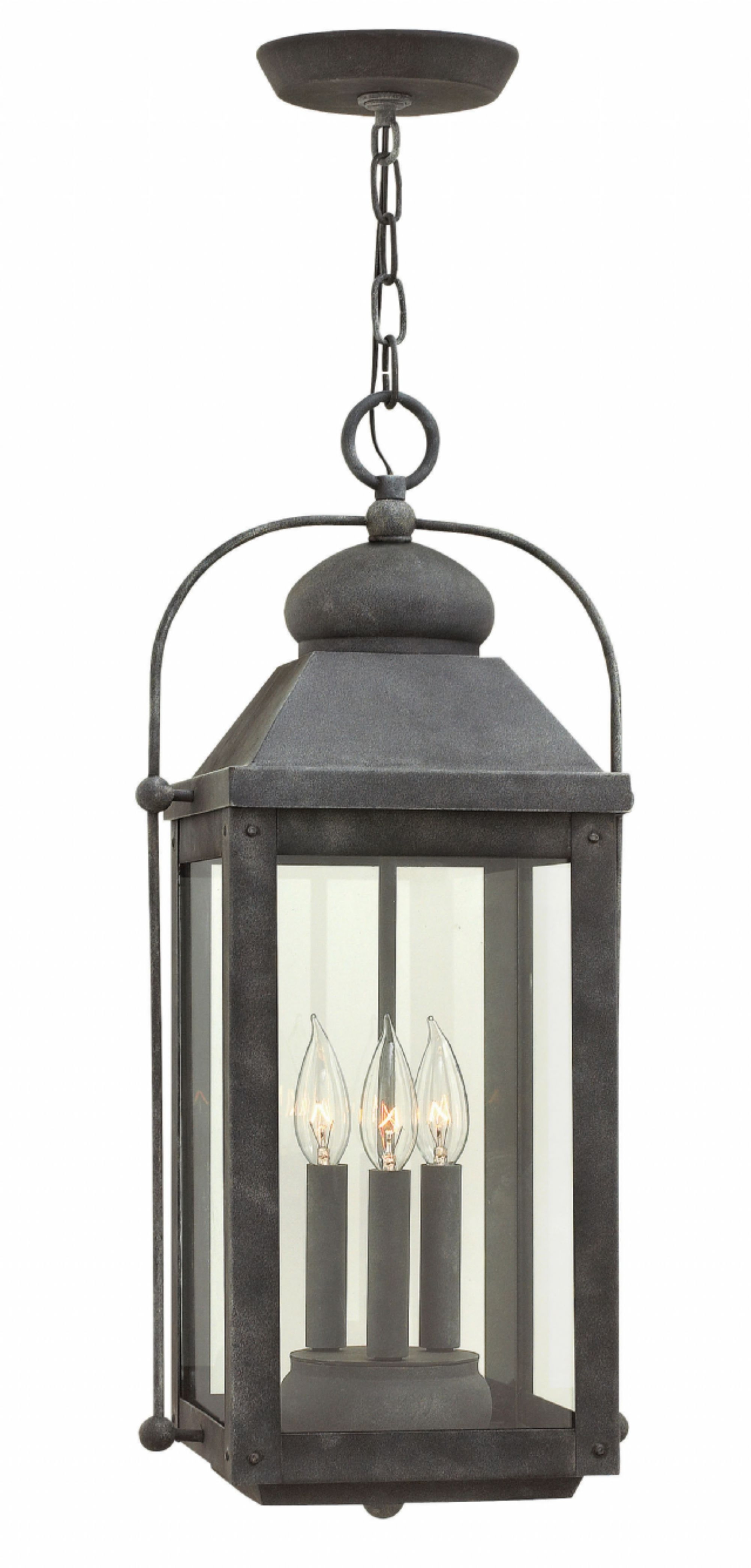Zinc Outdoor Lanterns Inside Most Up To Date Aged Zinc Anchorage > Exterior Ceiling Mount (View 14 of 20)