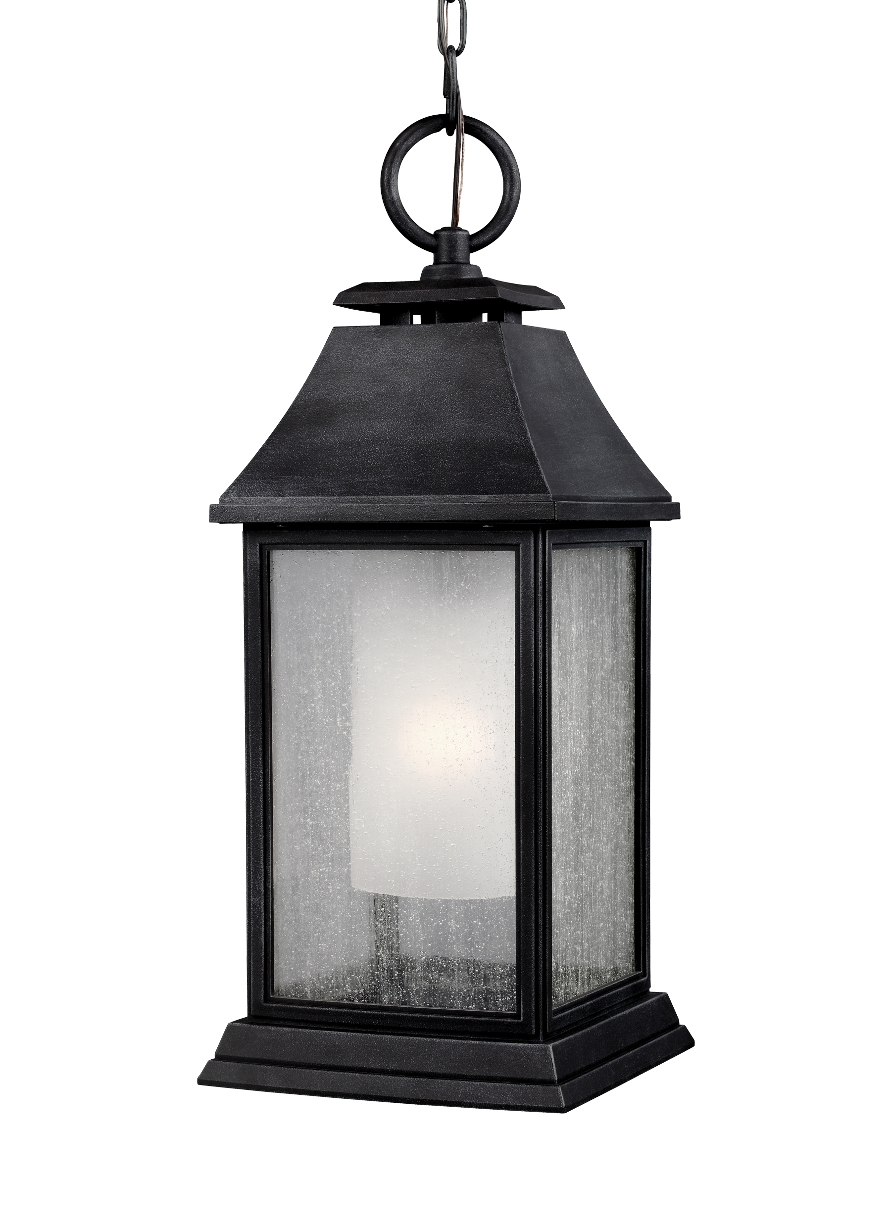 Zinc Outdoor Lanterns With Regard To Widely Used Ol10611dwz,1 – Light Outdoor Pendant,dark Weathered Zinc (View 15 of 20)