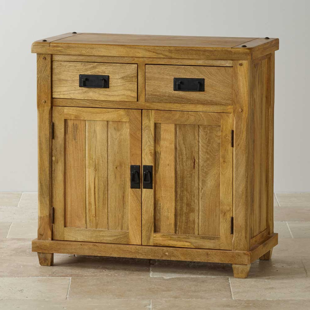 2 Door 2 Drawer Sideboard, Mango Wood – Wood Décor Throughout Well Liked Natural Mango Wood Finish Sideboards (View 2 of 20)