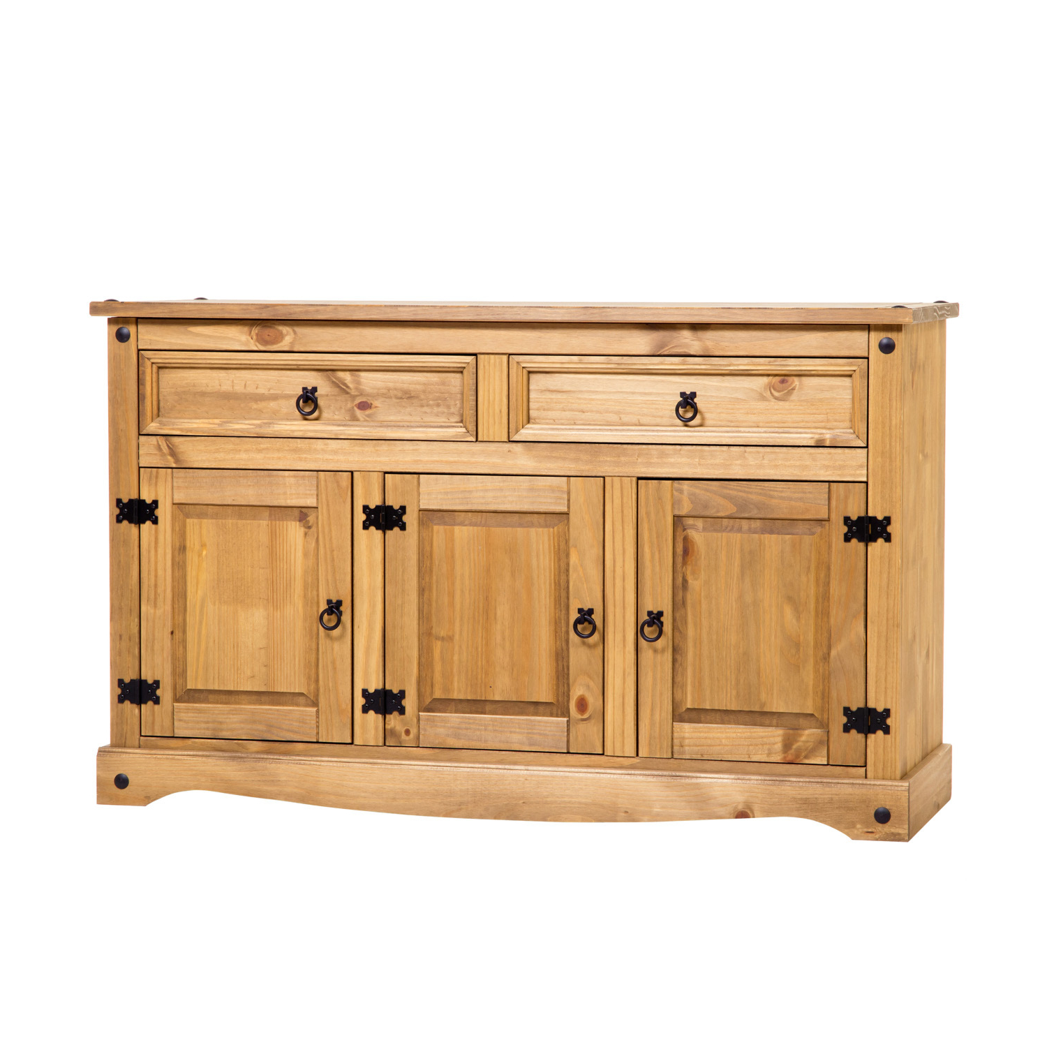 2 Drawer Sideboards Throughout Well Known Corona Three Door Two Drawer Medium Sideboard (Gallery 4 of 20)