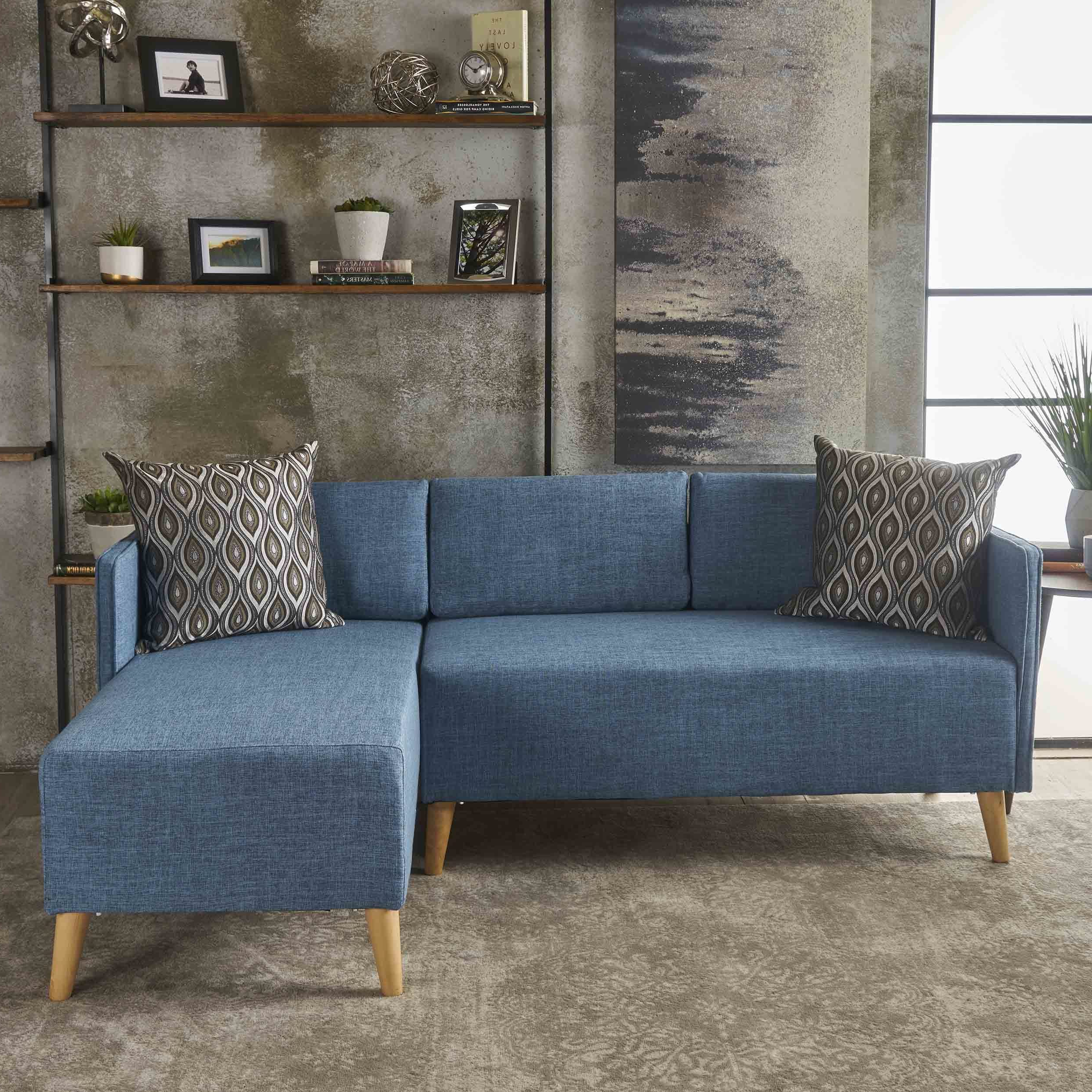 2 Piece Chaise Sectional Sofa (Gallery 9 of 20)