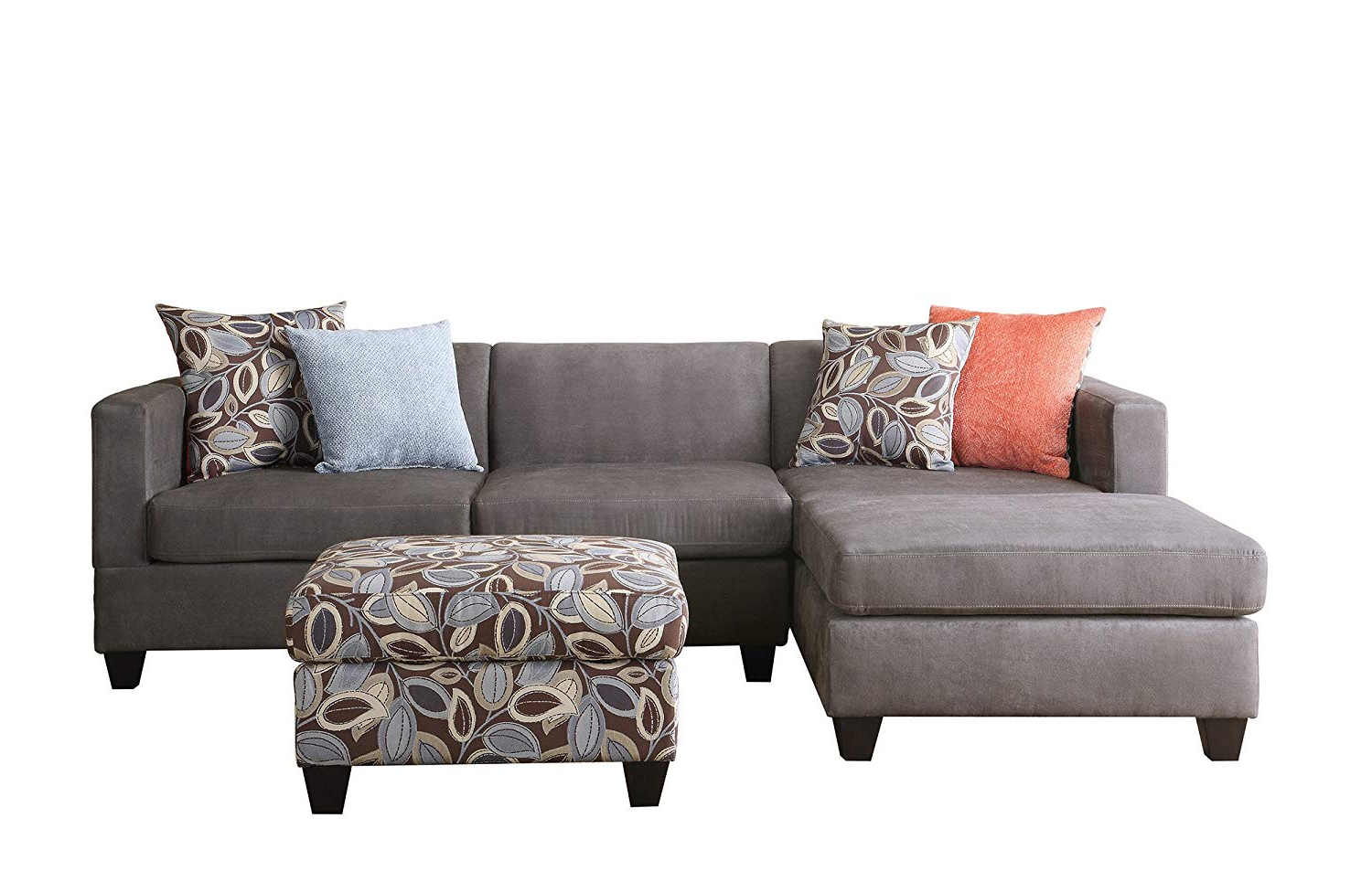 2 Piece Sectional With Chaise – Tidex Inside Most Recently Released Arrowmask 2 Piece Sectionals With Laf Chaise (View 1 of 20)
