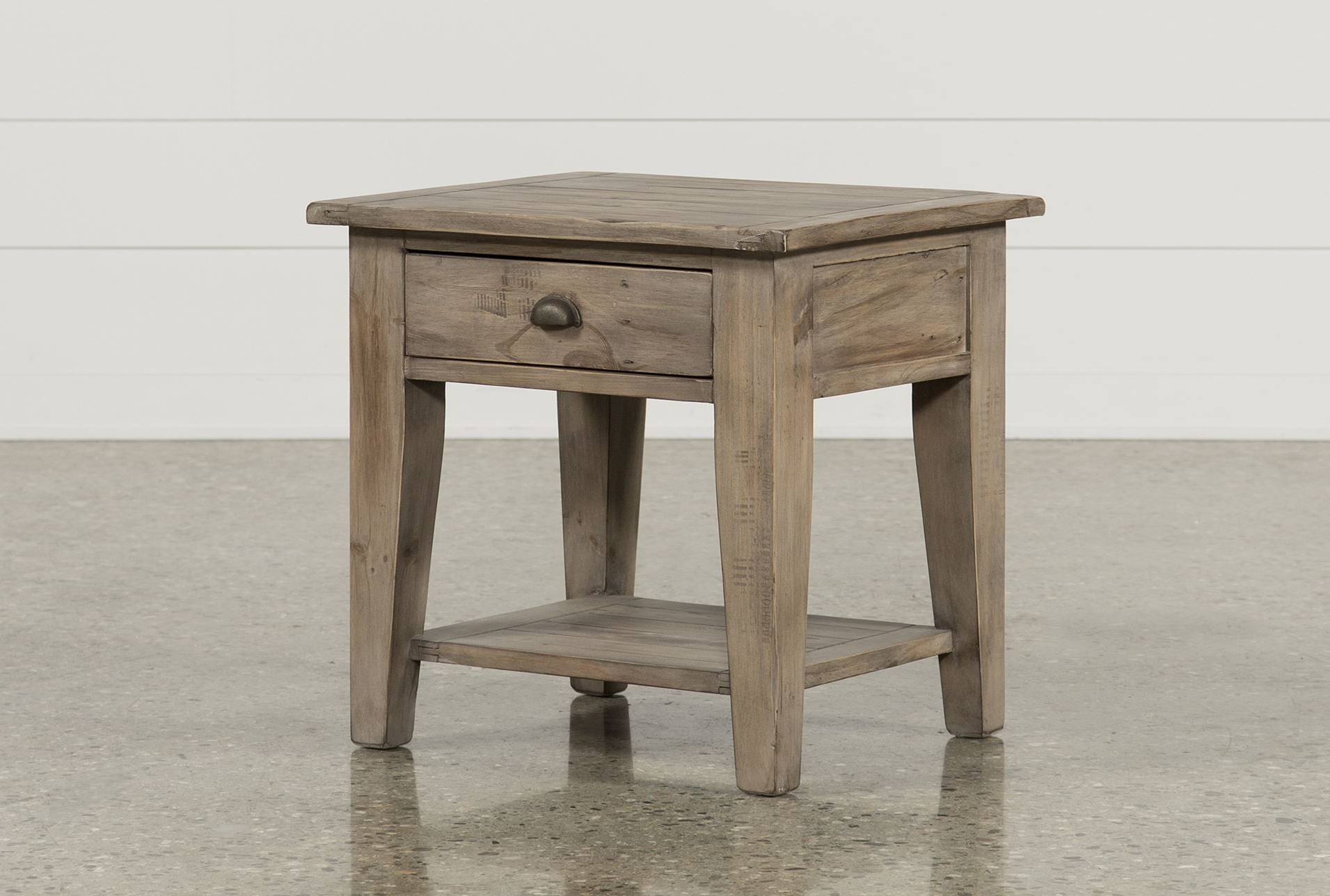2018 Ashburn End Table, Brown (View 3 of 20)