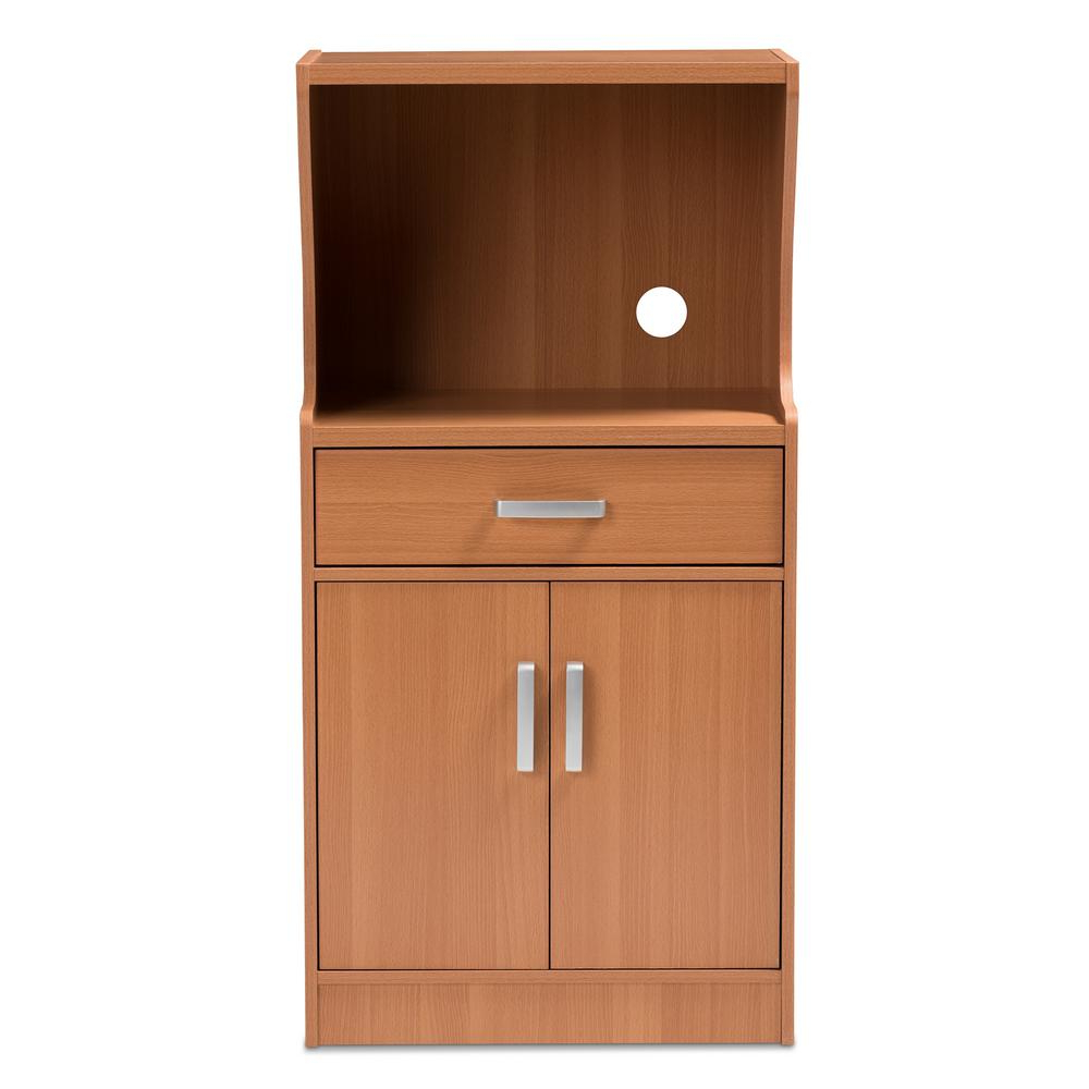 2018 Baxton Studio Lowell Brown Kitchen Cabinet 146 8273 Hd – The Home Depot Inside Tobias 4 Door Sideboards (View 4 of 20)