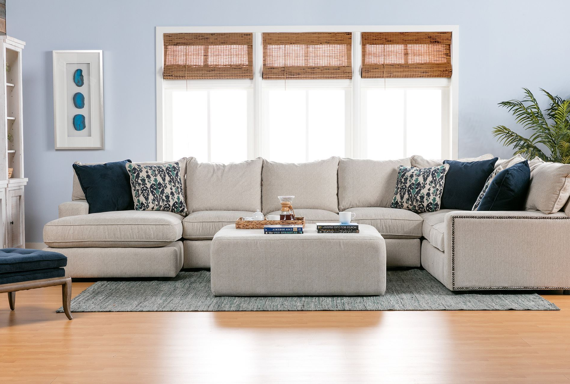 2018 Haven 3 Piece Sectionals Pertaining To Narrow Couch – Erwinmiradi (View 4 of 20)