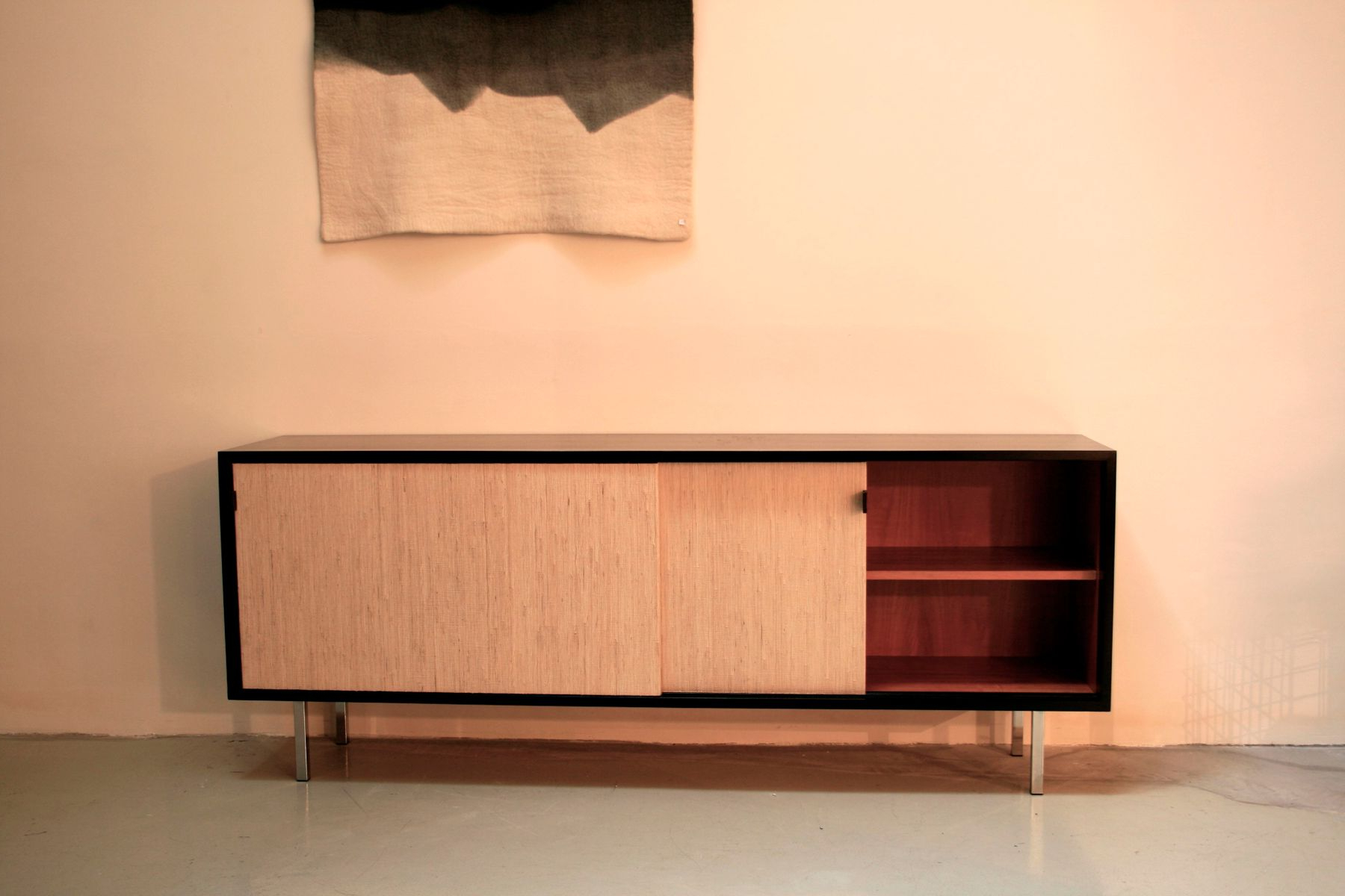 2018 Mid Century Sideboardflorence Knoll Bassett For Knoll Inc, 1950S With Regard To Girard 4 Door Sideboards (View 1 of 20)