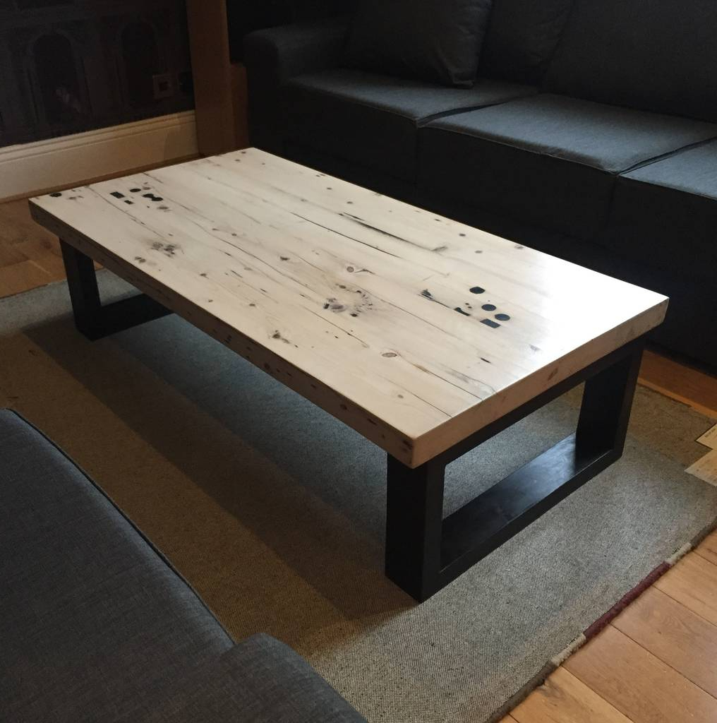 2018 Reclaimed Pine Coffee Tables For Handmade Bespoke Reclaimed Pine Coffee Tablegood Day Organics (Gallery 18 of 20)
