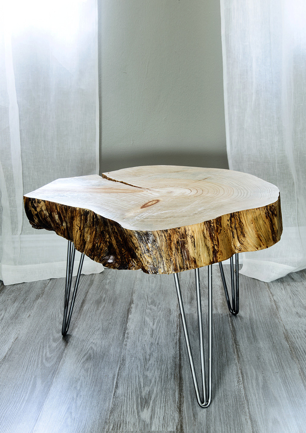 2018 The Perfect Great Log Stump End Table Photo : Mira Road With Sliced Trunk Coffee Tables (Gallery 9 of 20)