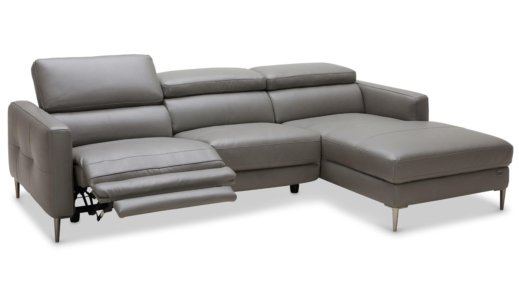 2019 Aspen 2 Piece Sectionals With Raf Chaise Intended For Products In Recliners (View 1 of 20)