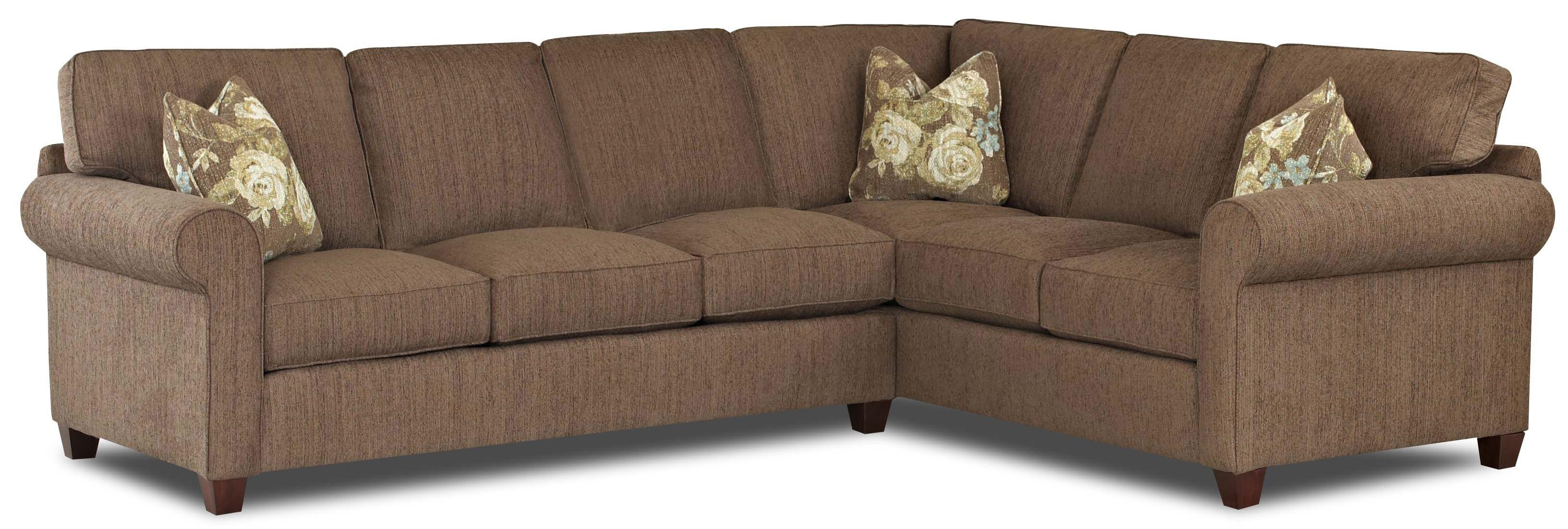 2019 Avery 2 Piece Sectionals With Raf Armless Chaise Intended For 2 Piece Sectional Sofa Slipcovers – Home Decor  (View 1 of 20)