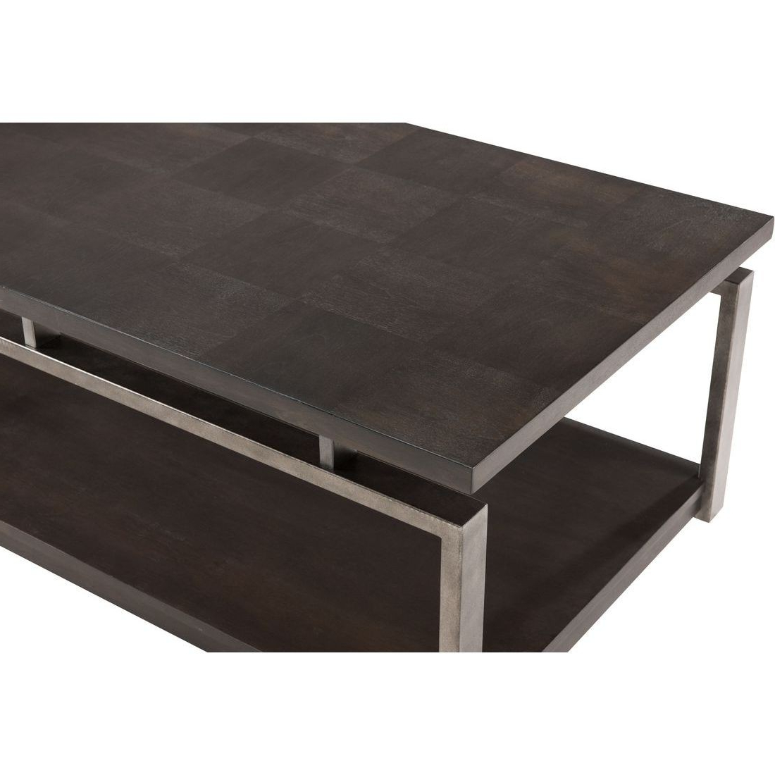 2019 Magnussen Alton Rectangular Cocktail Table In Platinum Charcoal In Alton Cocktail Tables (Gallery 7 of 20)