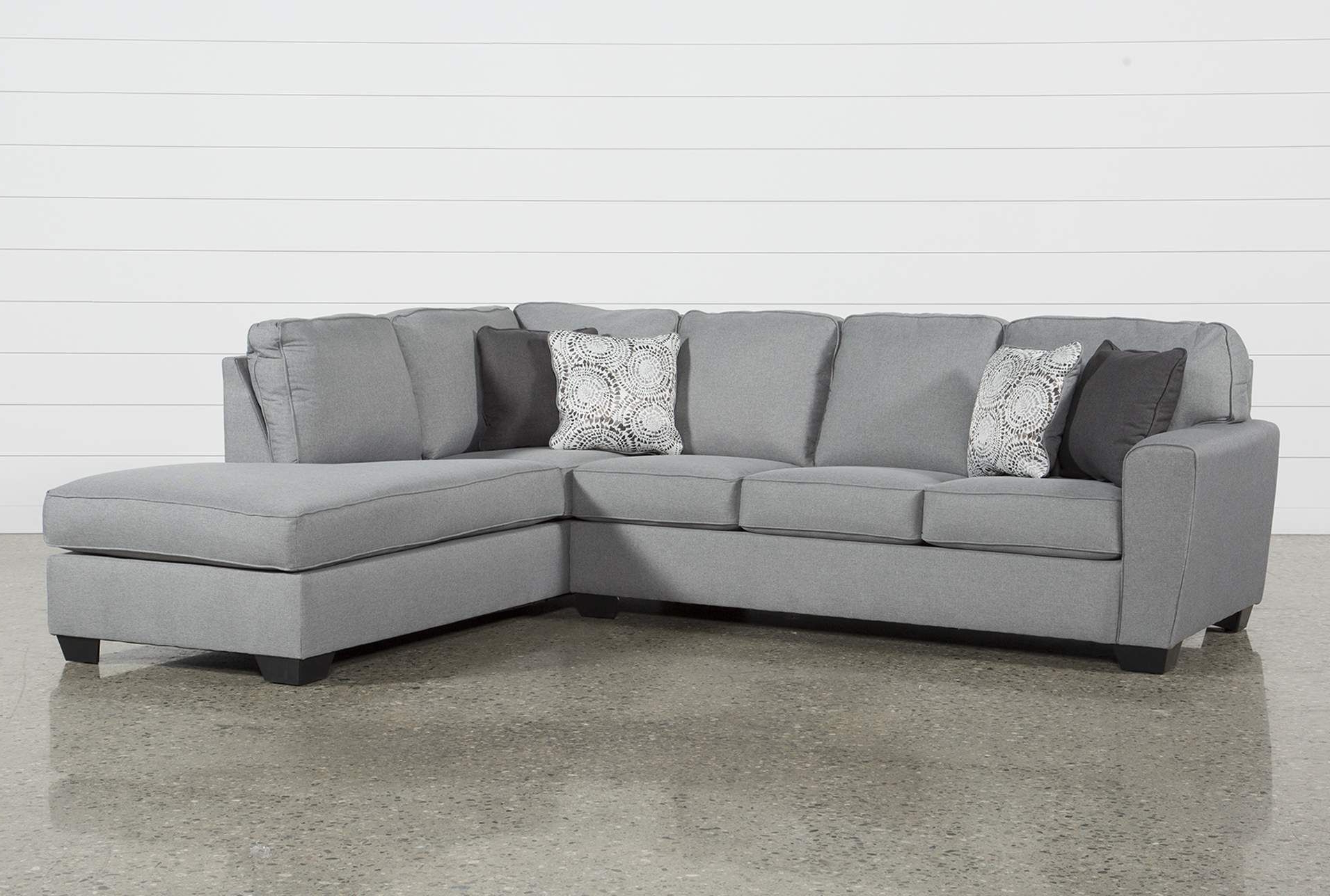 2019 Mcdade Ash 2 Piece Sectional W/raf Chaise (Gallery 3 of 20)