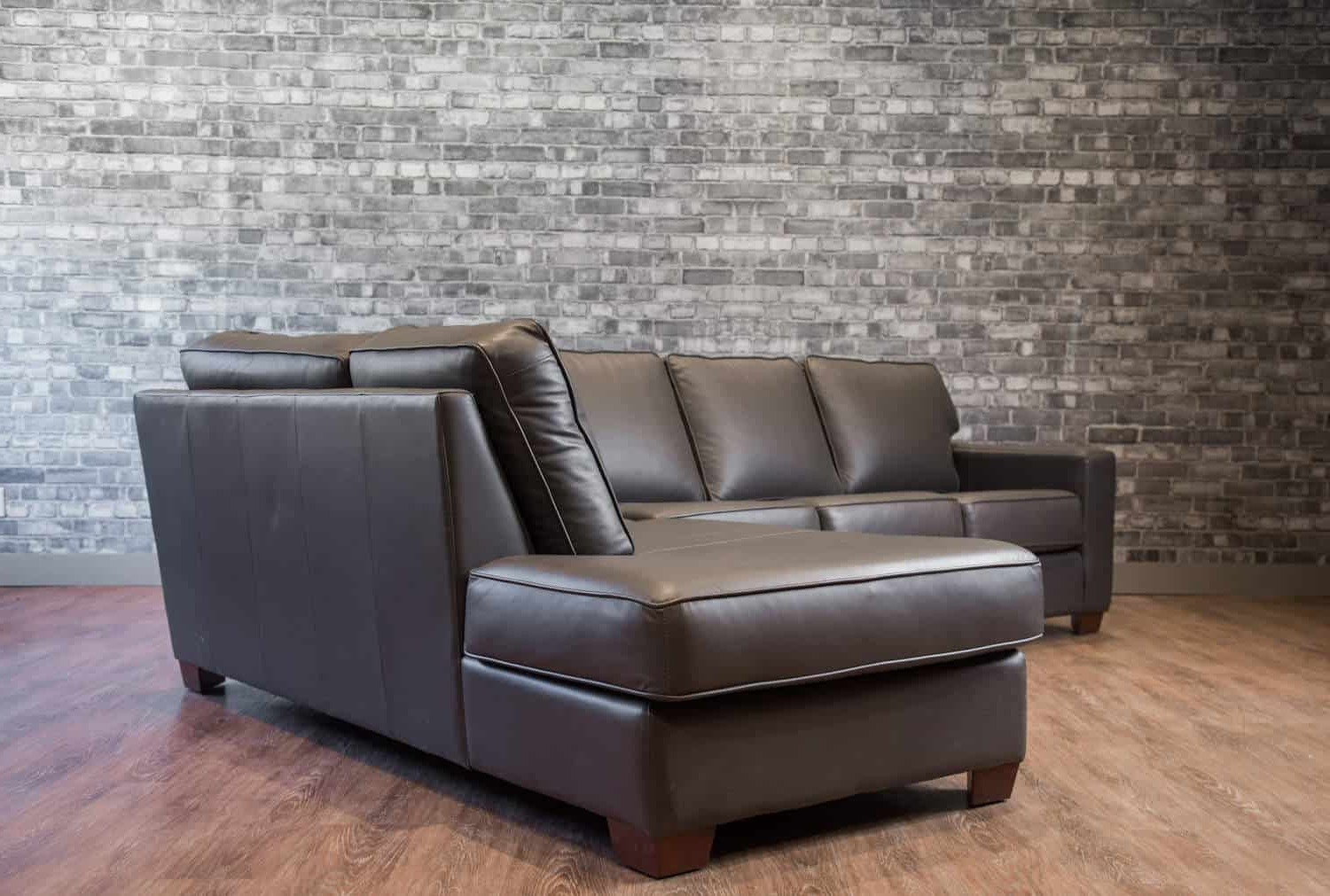 2019 Mesa Foam 2 Piece Sectionals With The Mesa Leather Sectional (View 1 of 20)