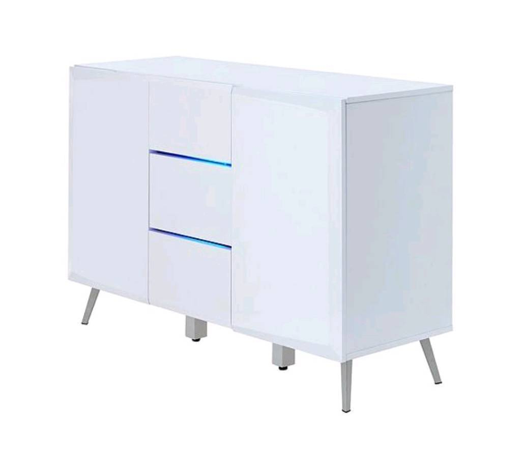 2019 Oil Pale Finish 4 Door Sideboards In Xander Large Sideboard In White Rrp  (View 15 of 20)