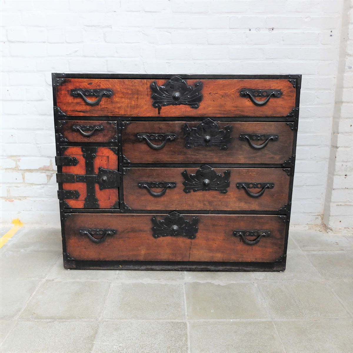2019 Palazzo 87 Inch Sideboards Pertaining To 19th Century Japanese Tansu Cabinet For Sale At Pamono (View 4 of 20)