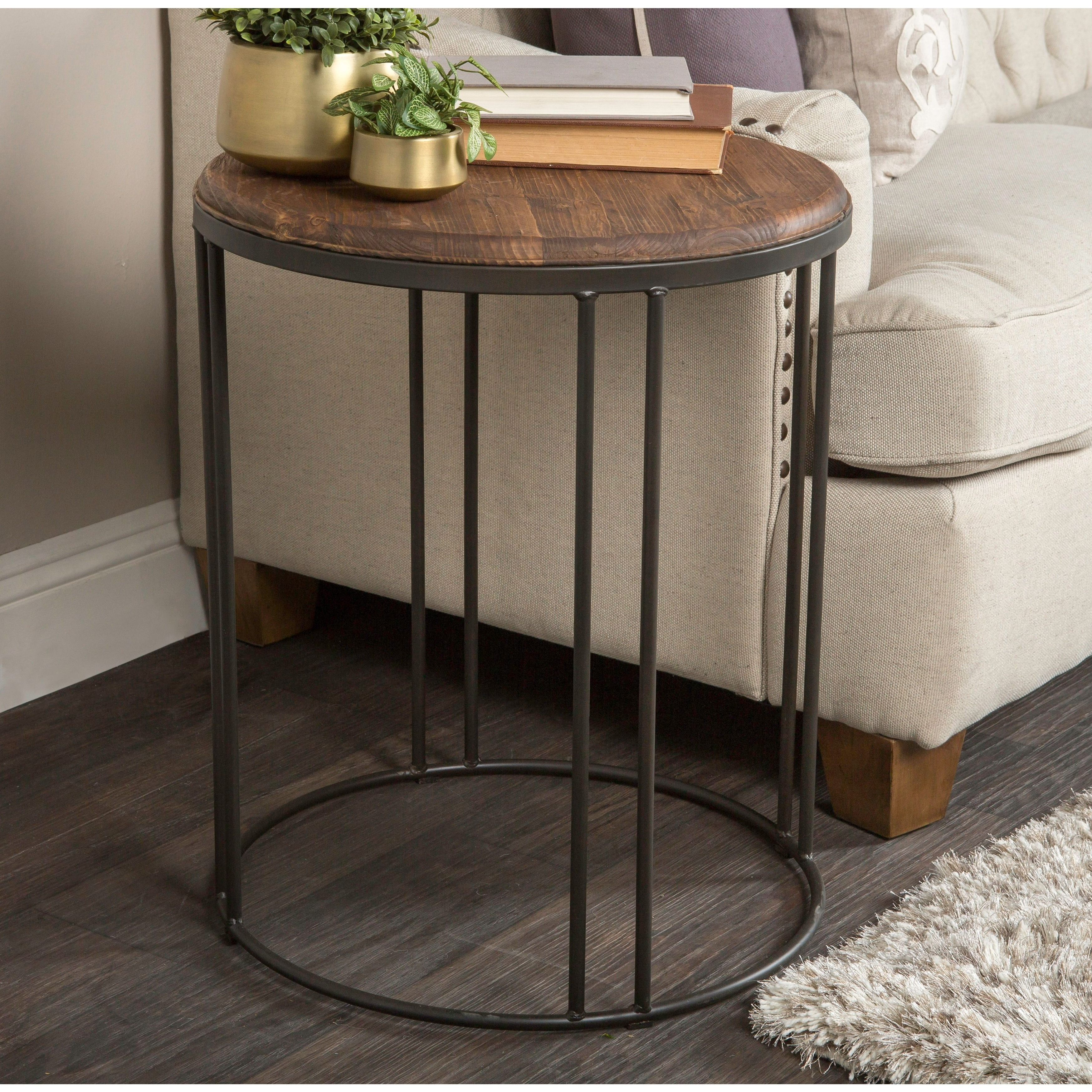 2019 Reclaimed Pine & Iron Coffee Tables For This Reclaimed Pine Wood And Iron Table Provides A Simple And (View 2 of 20)