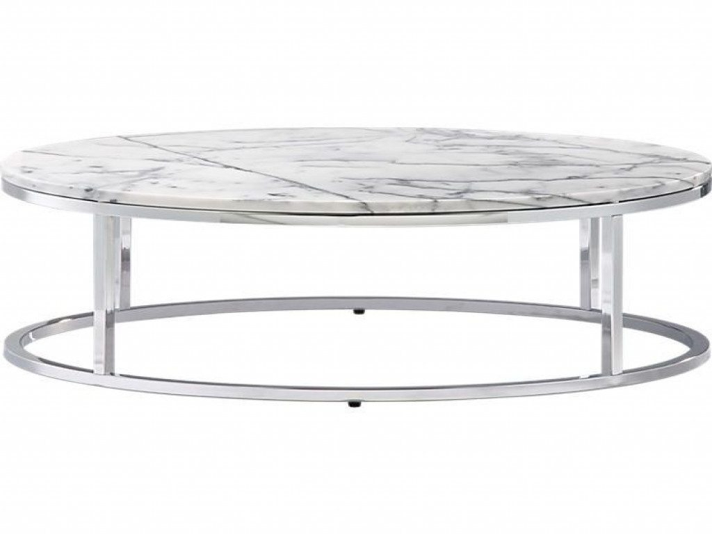 2019 Smart Round Marble Top Coffee Tables For Furniture: Round Marble Top Coffee Table Elegant Smart Round Marble (Gallery 14 of 20)