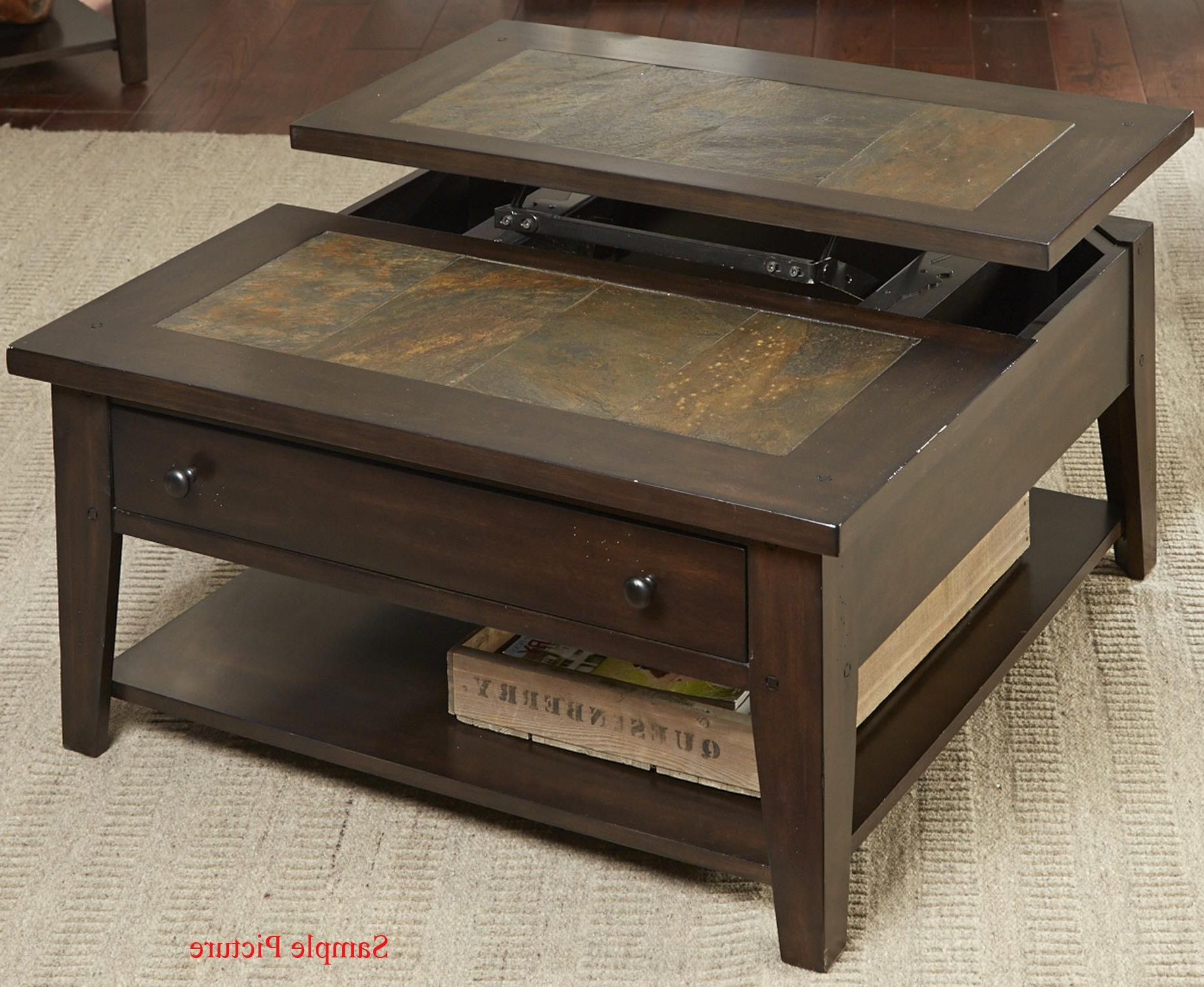 2019 Tillman Rectangle Lift Top Cocktail Tables With Hearthstone Lift Top Cocktail Tableliberty Furniture (View 5 of 20)