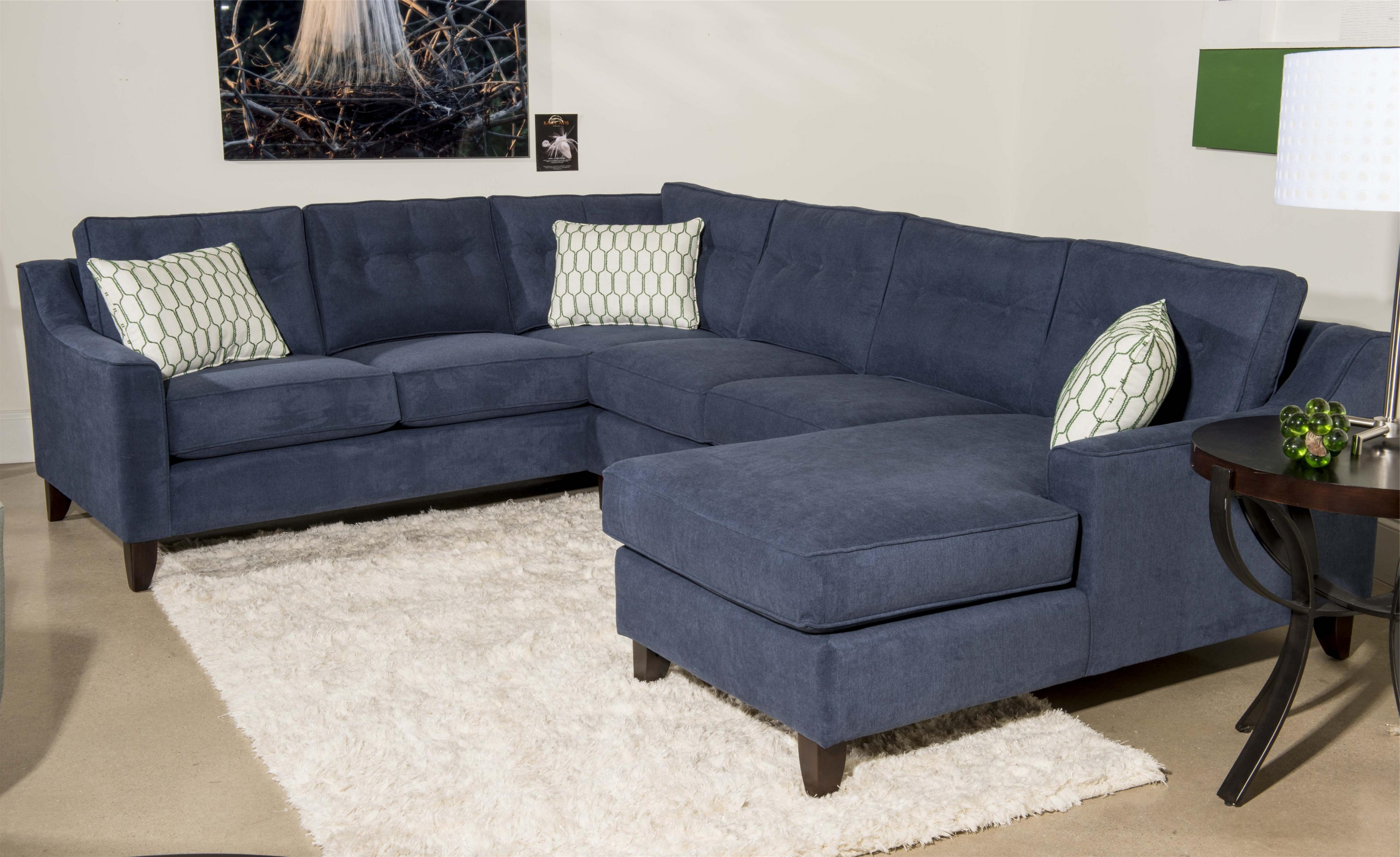 3 Chaise Sectional Regarding Well Liked Sierra Down 3 Piece Sectionals With Laf Chaise (View 4 of 20)