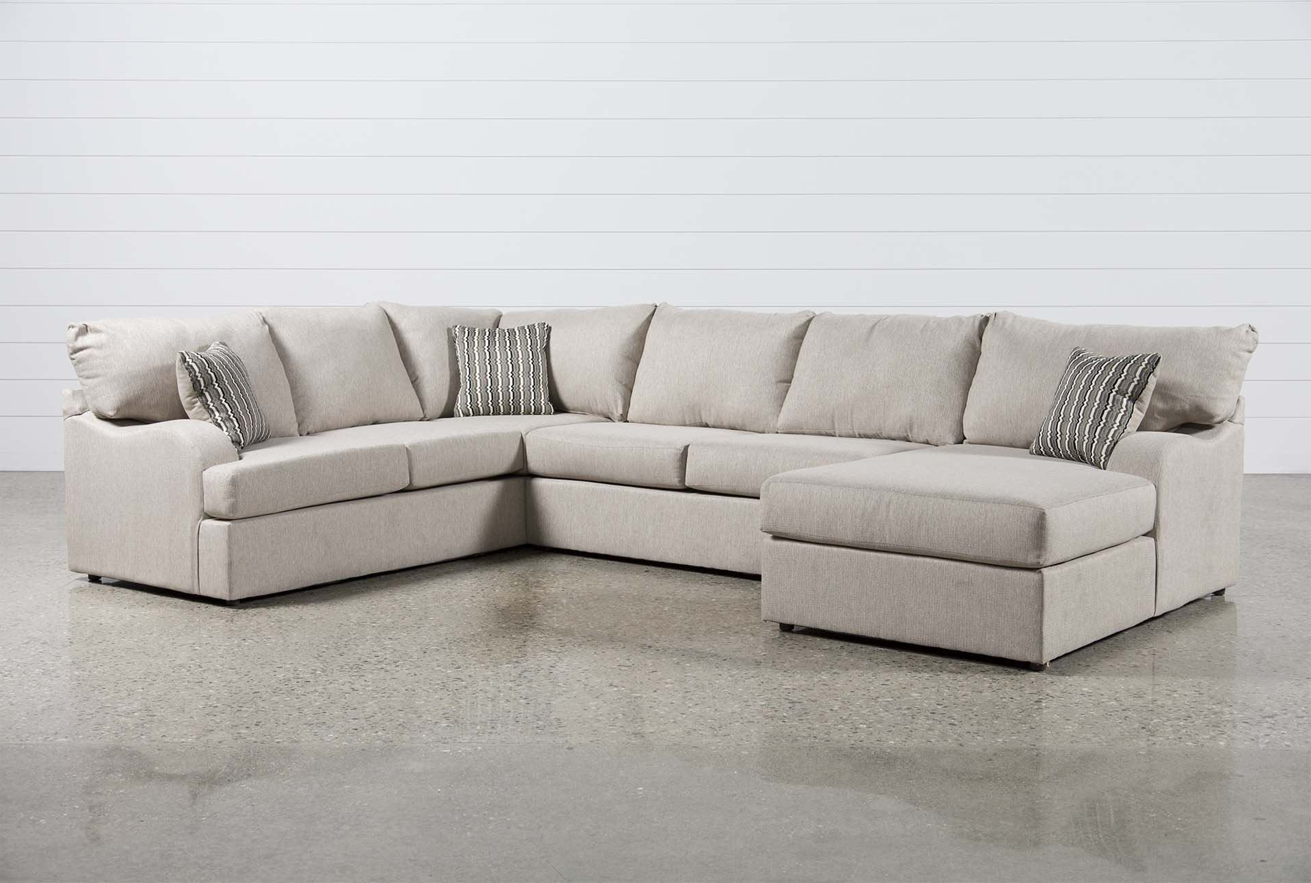 3 Regarding Glamour Ii 3 Piece Sectionals (Gallery 2 of 20)