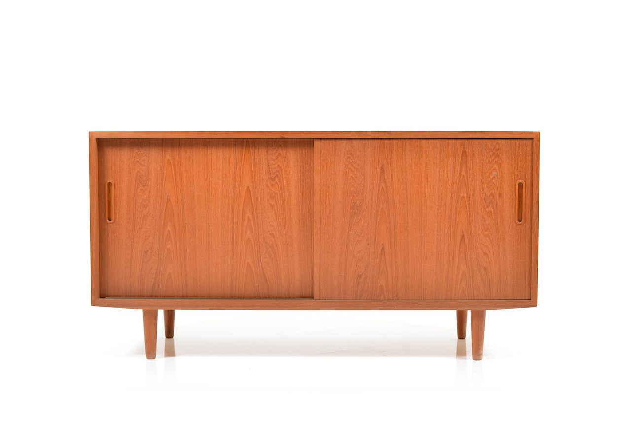 4 Door Wood Squares Sideboards With Trendy Small Teak Sideboardpoul Hundevad For Hundevad & Co (View 13 of 20)