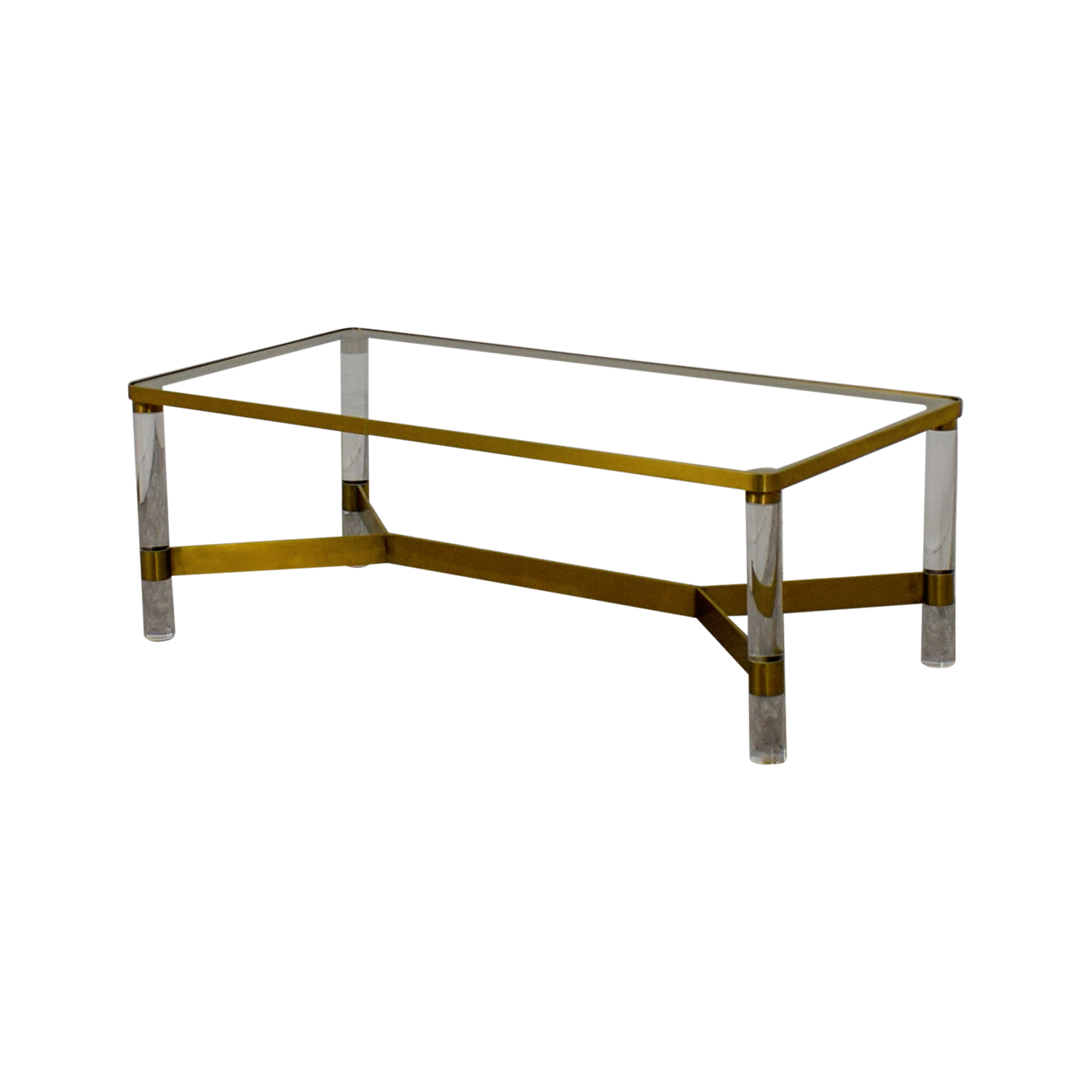 [%72% Off – Anthropologie Anthropologie Oscarine Glass Acrylic & Brass With Well Known Acrylic Glass And Brass Coffee Tables|Acrylic Glass And Brass Coffee Tables Throughout Most Recently Released 72% Off – Anthropologie Anthropologie Oscarine Glass Acrylic & Brass|Well Known Acrylic Glass And Brass Coffee Tables Inside 72% Off – Anthropologie Anthropologie Oscarine Glass Acrylic & Brass|Preferred 72% Off – Anthropologie Anthropologie Oscarine Glass Acrylic & Brass Pertaining To Acrylic Glass And Brass Coffee Tables%] (View 4 of 20)