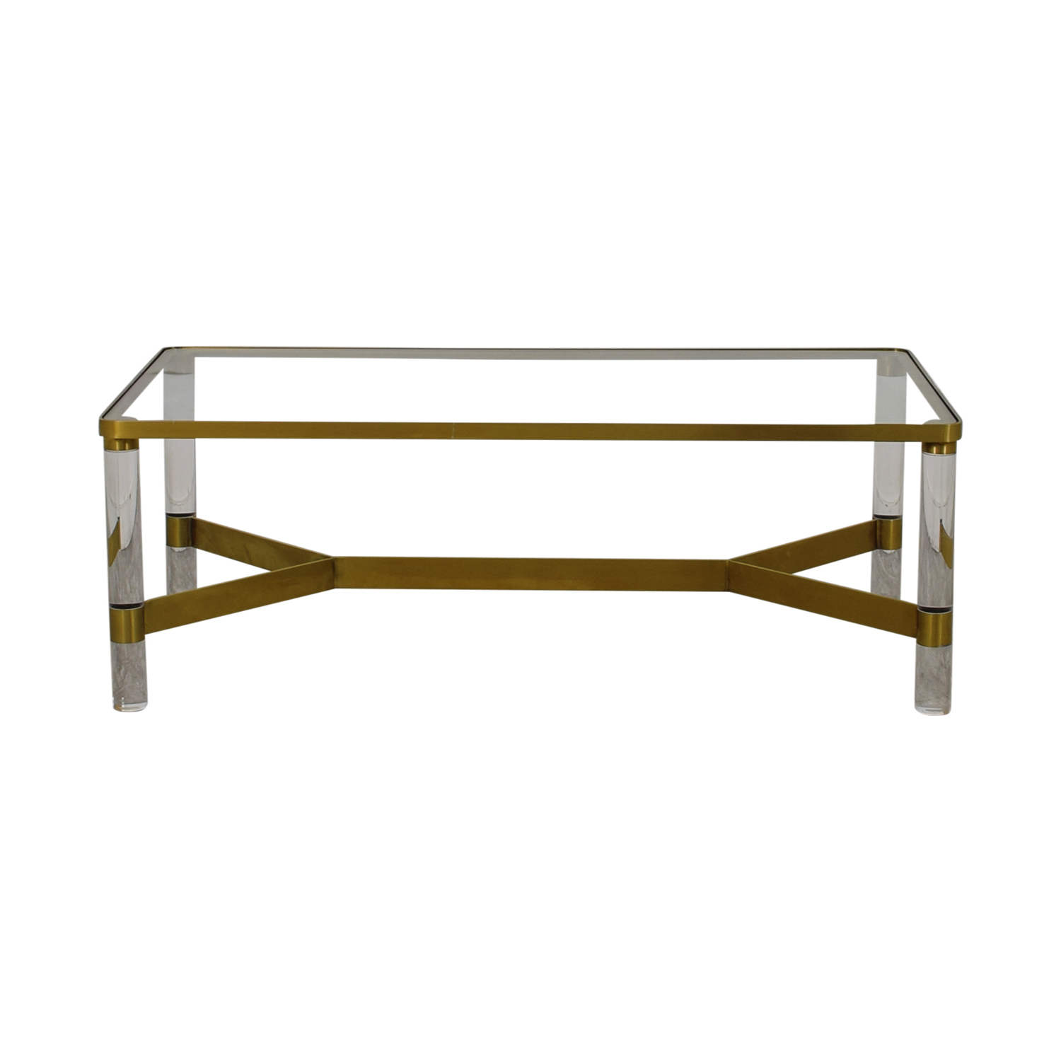 [%72% Off – Anthropologie Anthropologie Oscarine Glass Acrylic & Brass Within Well Known Acrylic & Brushed Brass Coffee Tables|acrylic & Brushed Brass Coffee Tables With Regard To Newest 72% Off – Anthropologie Anthropologie Oscarine Glass Acrylic & Brass|most Current Acrylic & Brushed Brass Coffee Tables Intended For 72% Off – Anthropologie Anthropologie Oscarine Glass Acrylic & Brass|popular 72% Off – Anthropologie Anthropologie Oscarine Glass Acrylic & Brass Pertaining To Acrylic & Brushed Brass Coffee Tables%] (View 3 of 20)