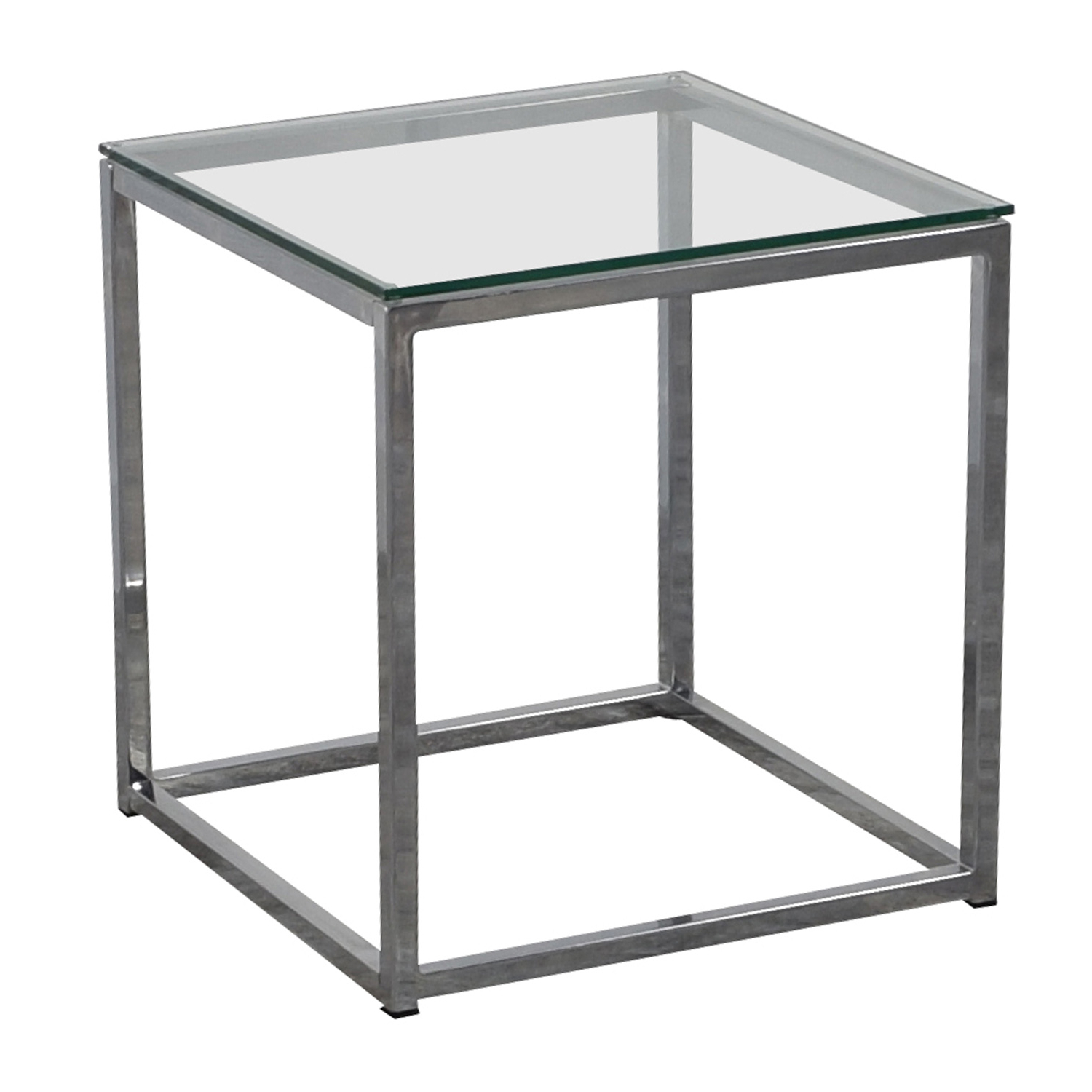 [%80% Off – Cb2 Cb2 Smart Glass Top Side Table / Tables Throughout Best And Newest Smart Glass Top Coffee Tables|Smart Glass Top Coffee Tables Pertaining To 2018 80% Off – Cb2 Cb2 Smart Glass Top Side Table / Tables|Trendy Smart Glass Top Coffee Tables In 80% Off – Cb2 Cb2 Smart Glass Top Side Table / Tables|2018 80% Off – Cb2 Cb2 Smart Glass Top Side Table / Tables For Smart Glass Top Coffee Tables%] (View 1 of 20)