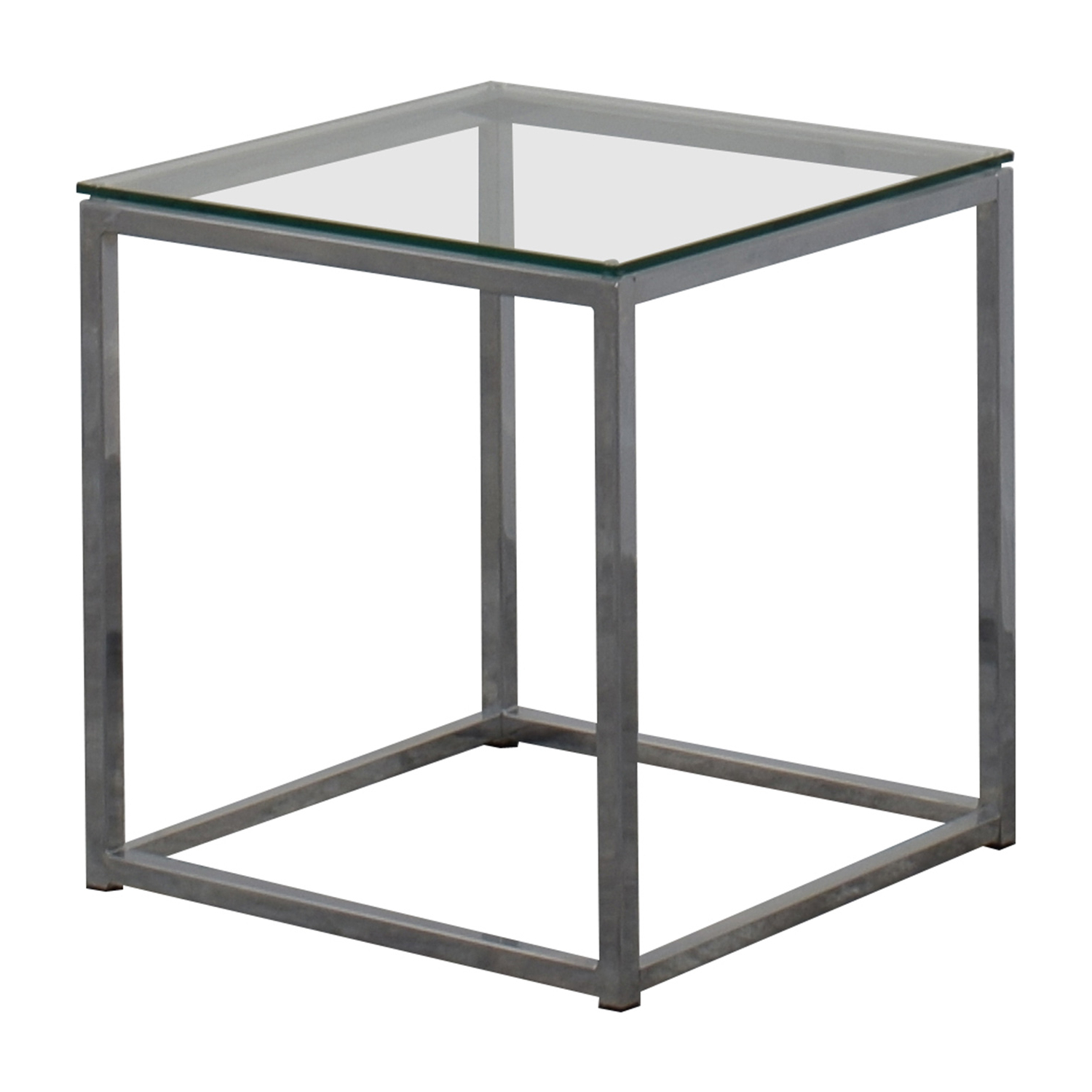 [%80% Off – Cb2 Cb2 Smart Glass Top Side Table / Tables Throughout Well Liked Smart Glass Top Coffee Tables|Smart Glass Top Coffee Tables Inside Most Popular 80% Off – Cb2 Cb2 Smart Glass Top Side Table / Tables|Best And Newest Smart Glass Top Coffee Tables Pertaining To 80% Off – Cb2 Cb2 Smart Glass Top Side Table / Tables|Well Known 80% Off – Cb2 Cb2 Smart Glass Top Side Table / Tables Throughout Smart Glass Top Coffee Tables%] (View 2 of 20)